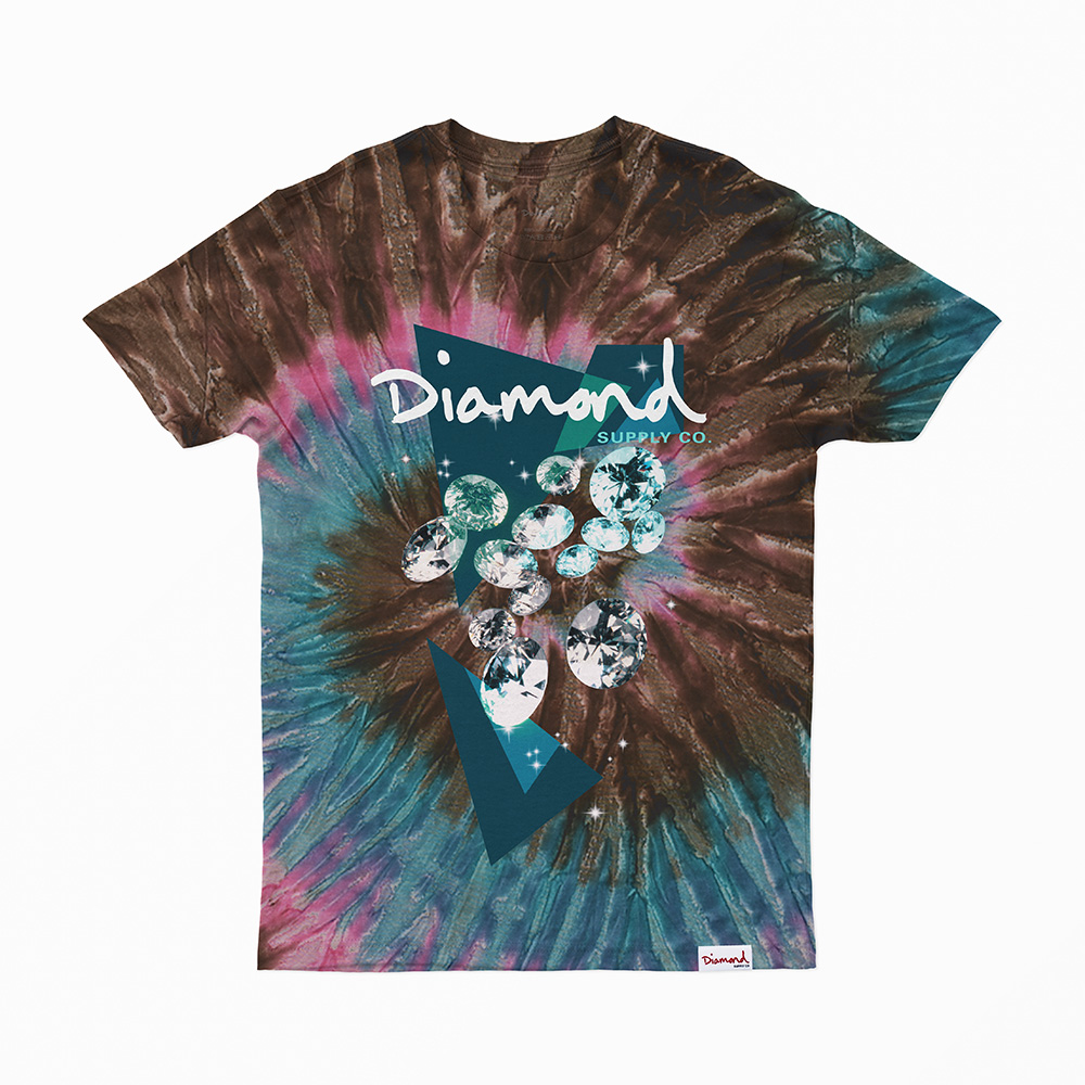 Camiseta Diamond Galactic - Tie Dye