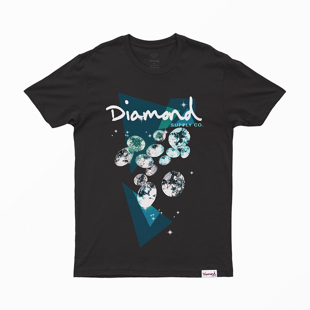 Camiseta Diamond Galatic - Preto