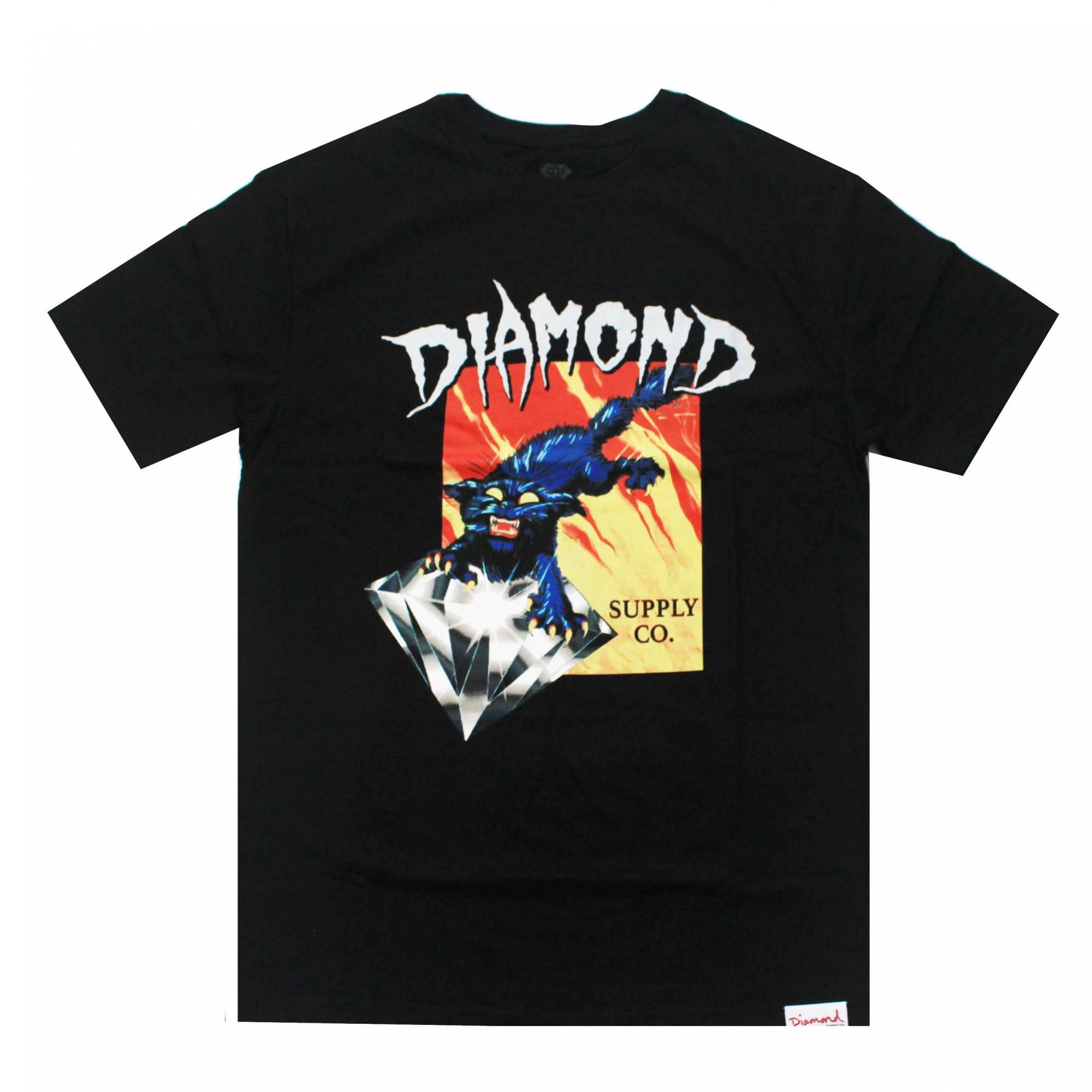 Camiseta Diamond Greed Preto