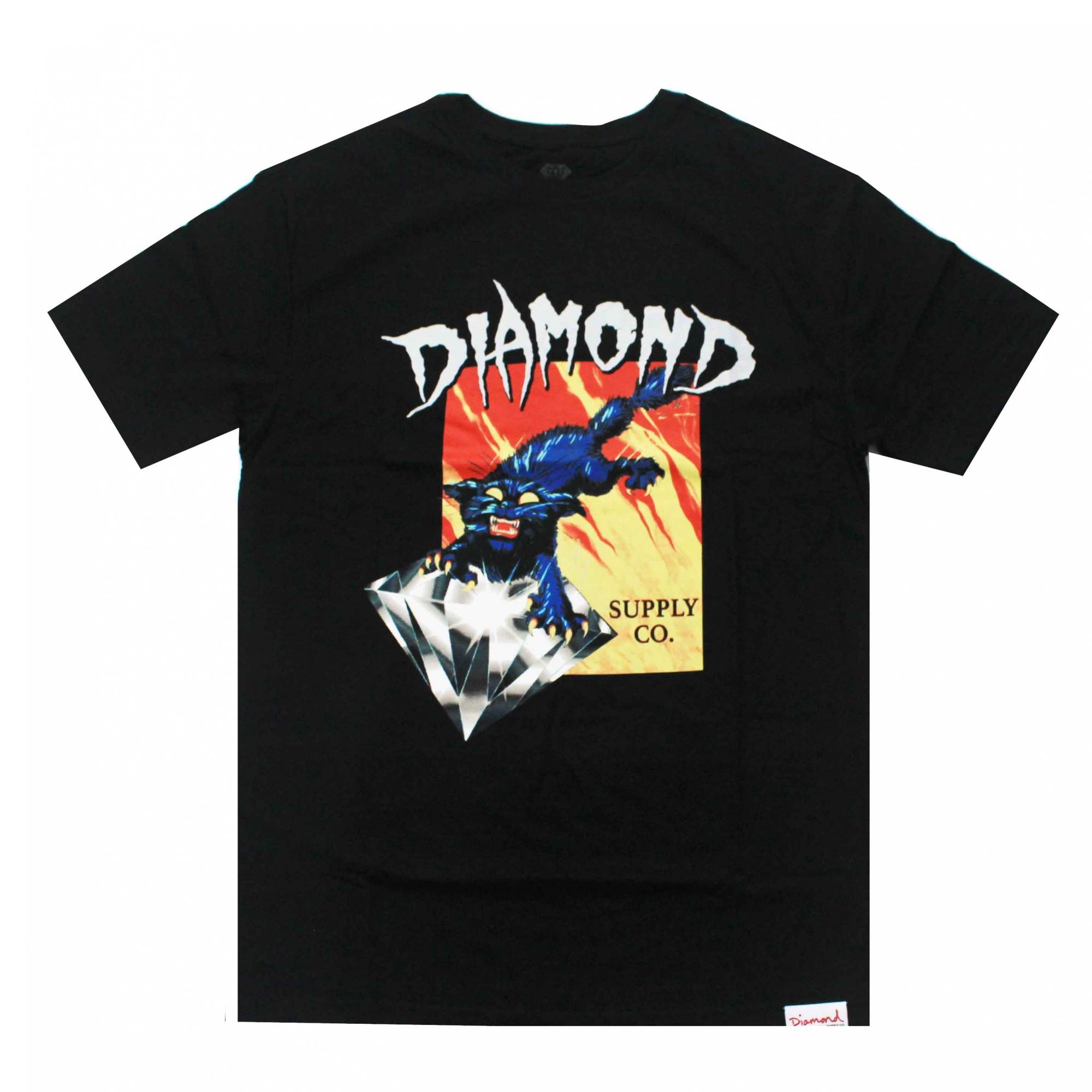 Camiseta Diamond Greed - Preto