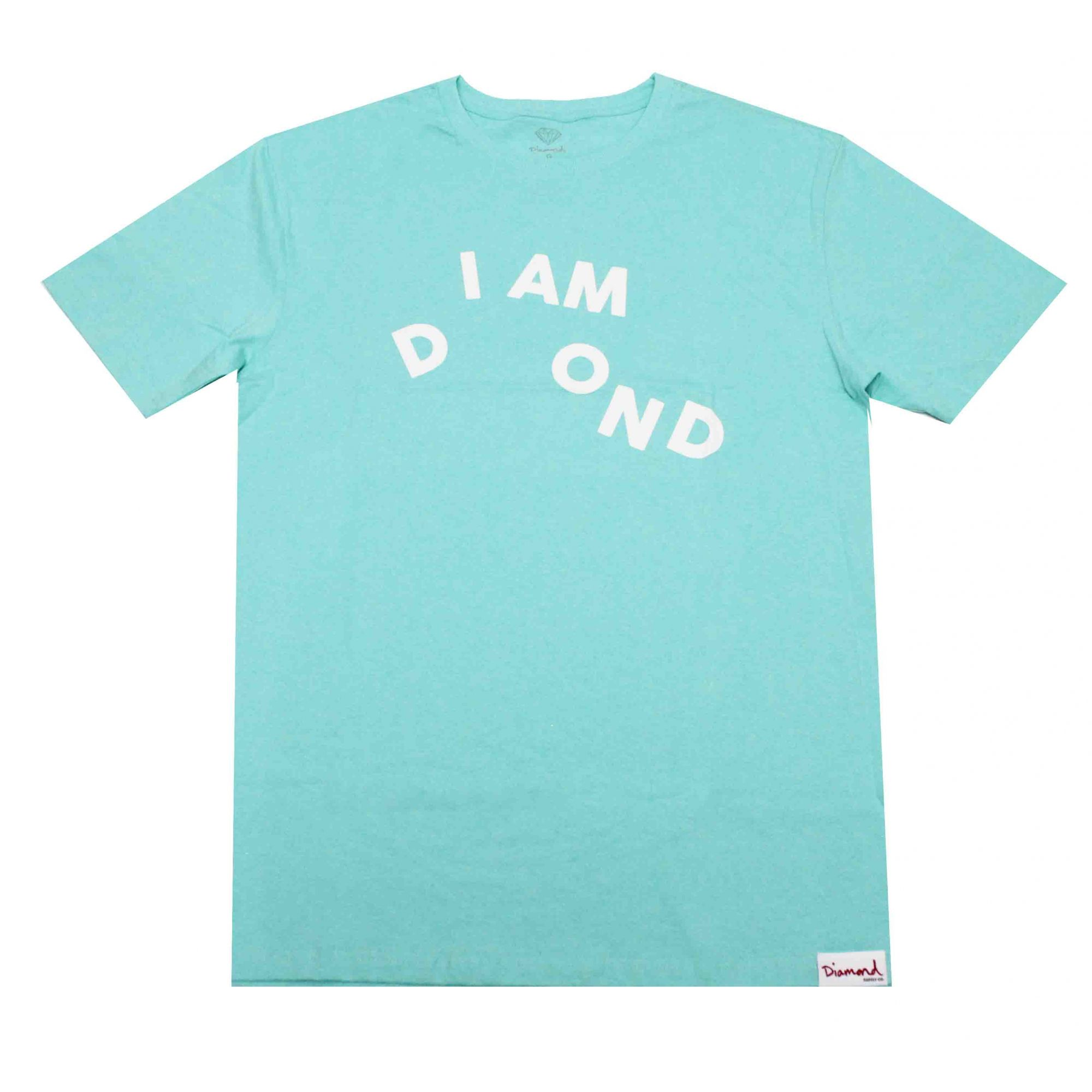 Camiseta Diamond I Am Tee Agua Blue