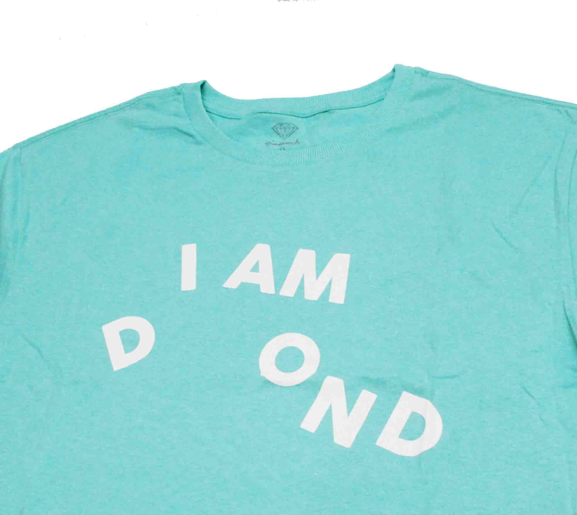 Camiseta Diamond I Am Tee Agua Blue