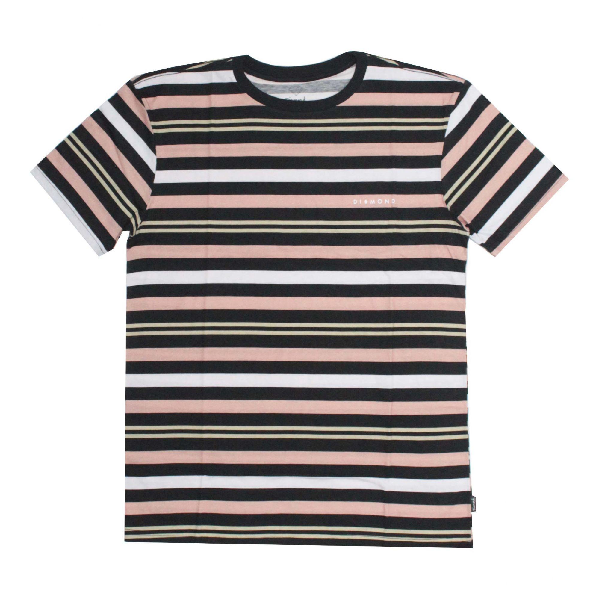 Camiseta Diamond Marquise Striped