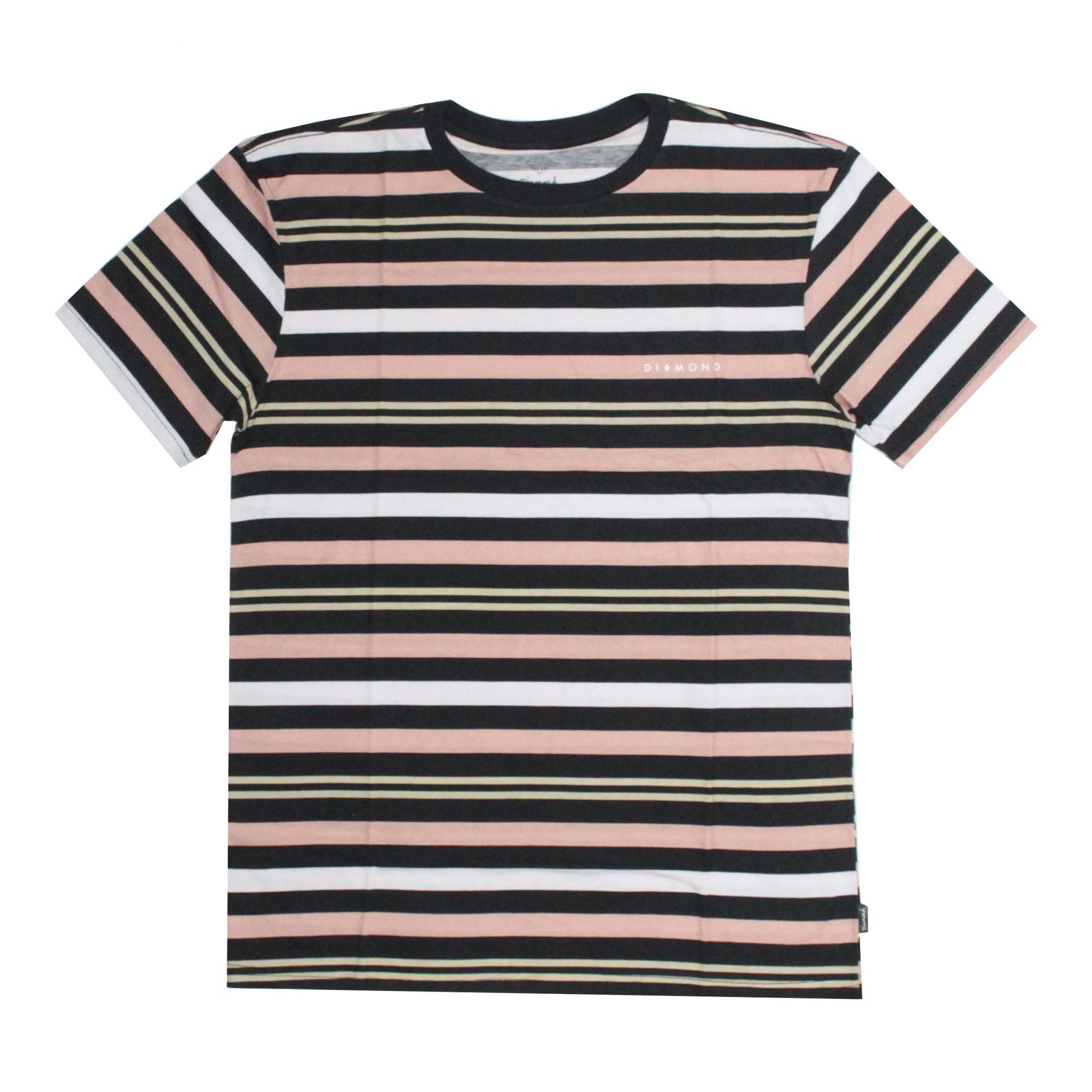 Camiseta Diamond Marquise Striped