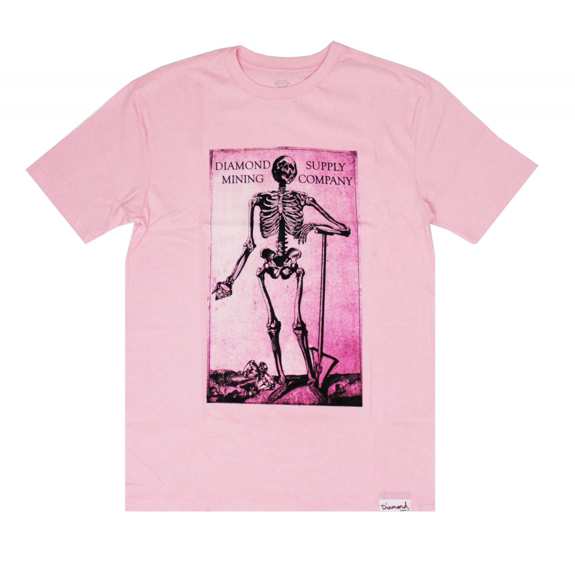 Camiseta Diamond Mining Rosa