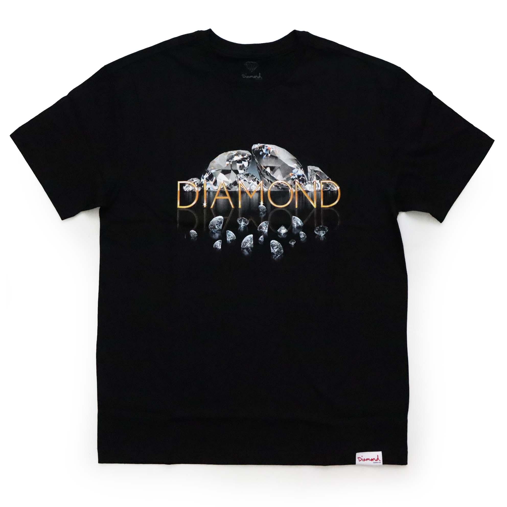 Camiseta Diamond Mirrored - Preto