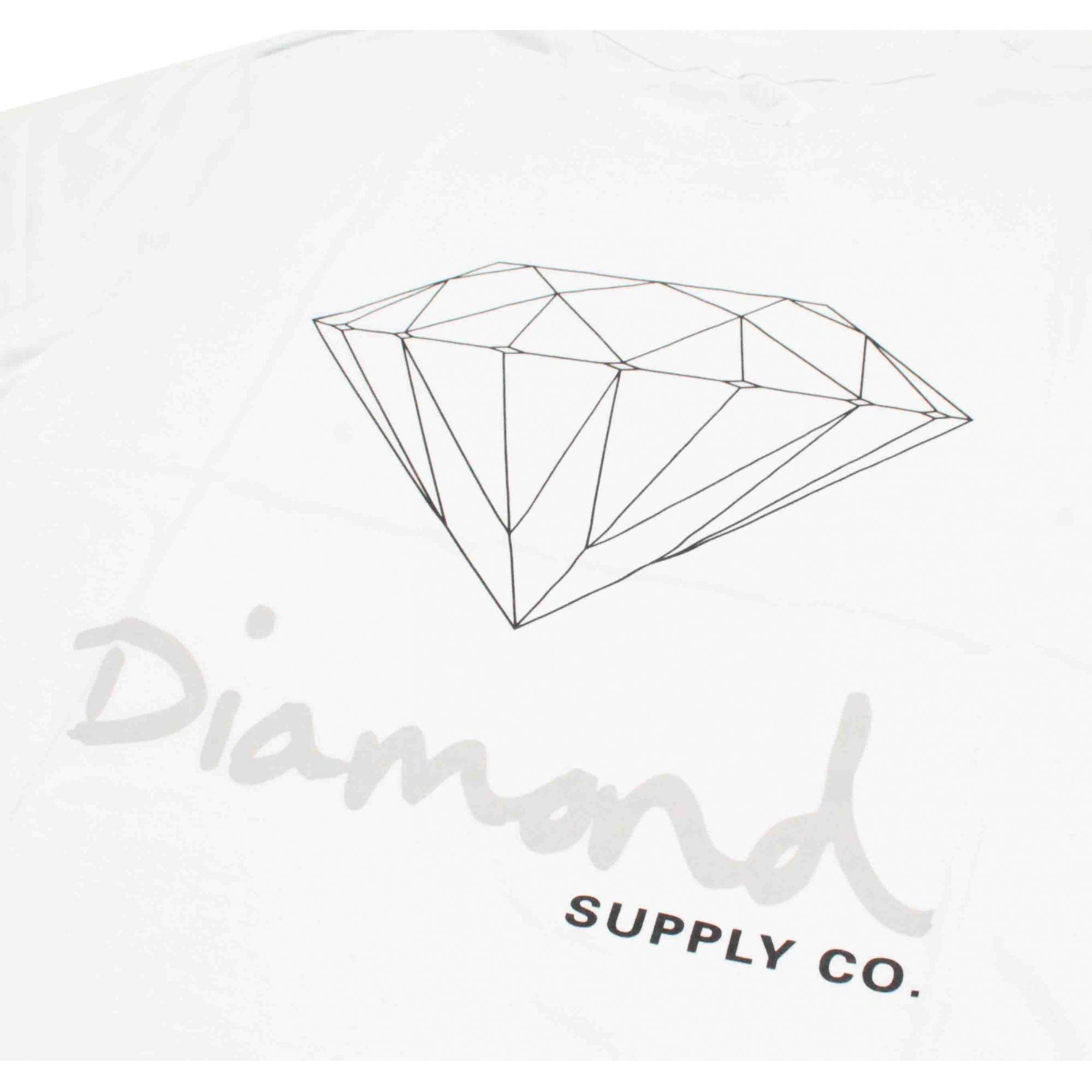 Camiseta Diamond Og Sign White