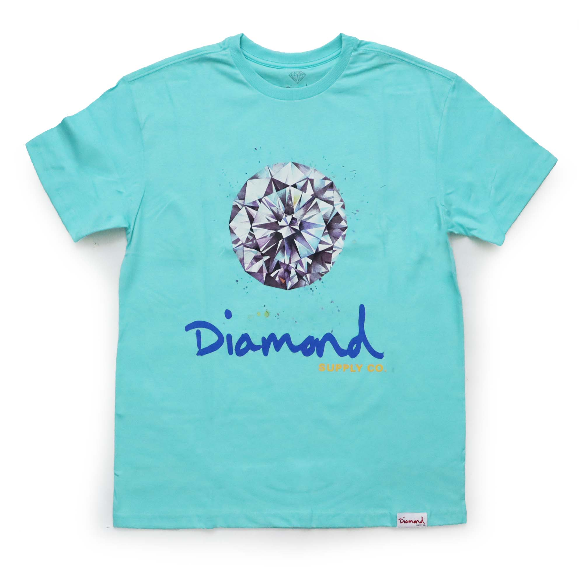 Camiseta Diamond Splash Sign - Verde