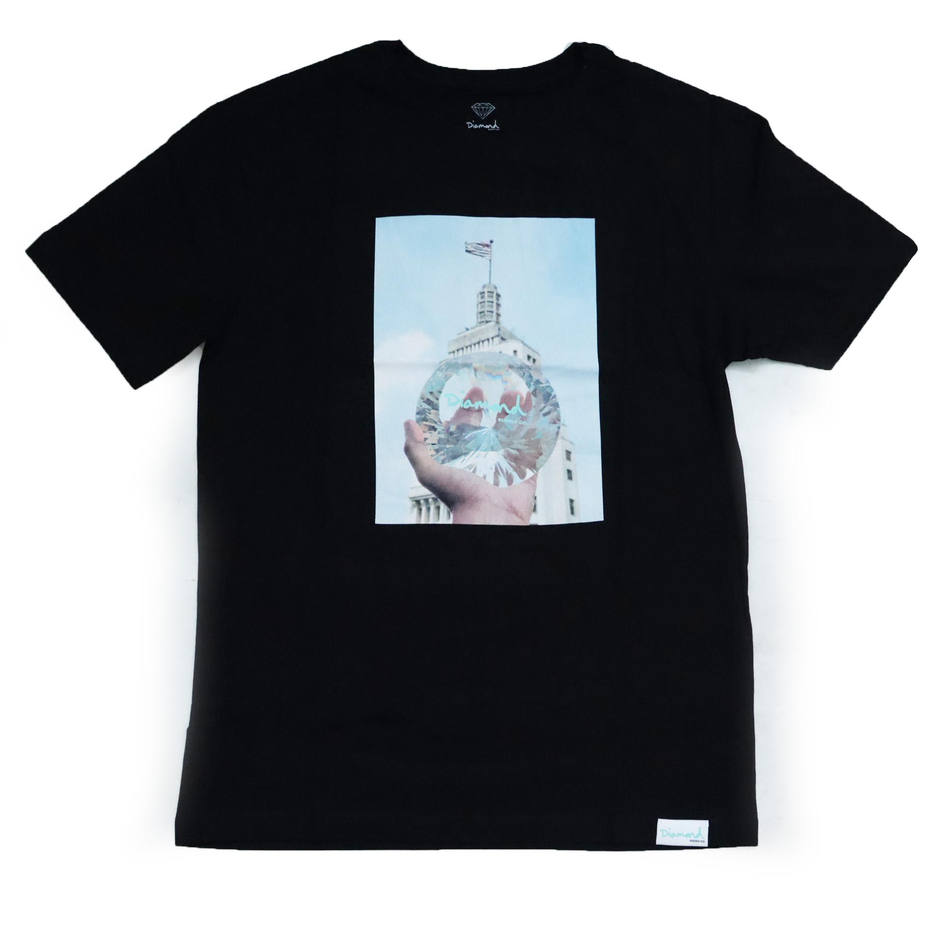 Camiseta Diamond WILL x DMND City - Preto
