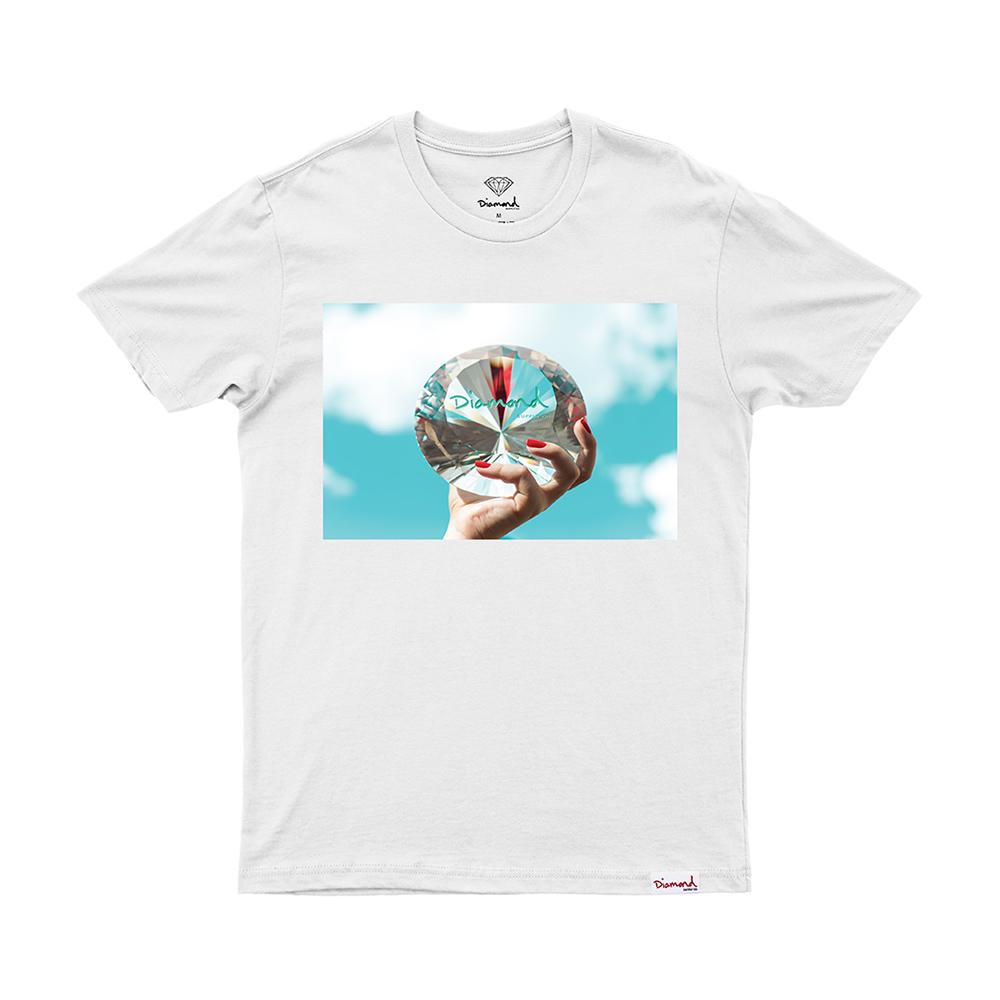 Camiseta Diamond WILL x DMND Sky - Branco