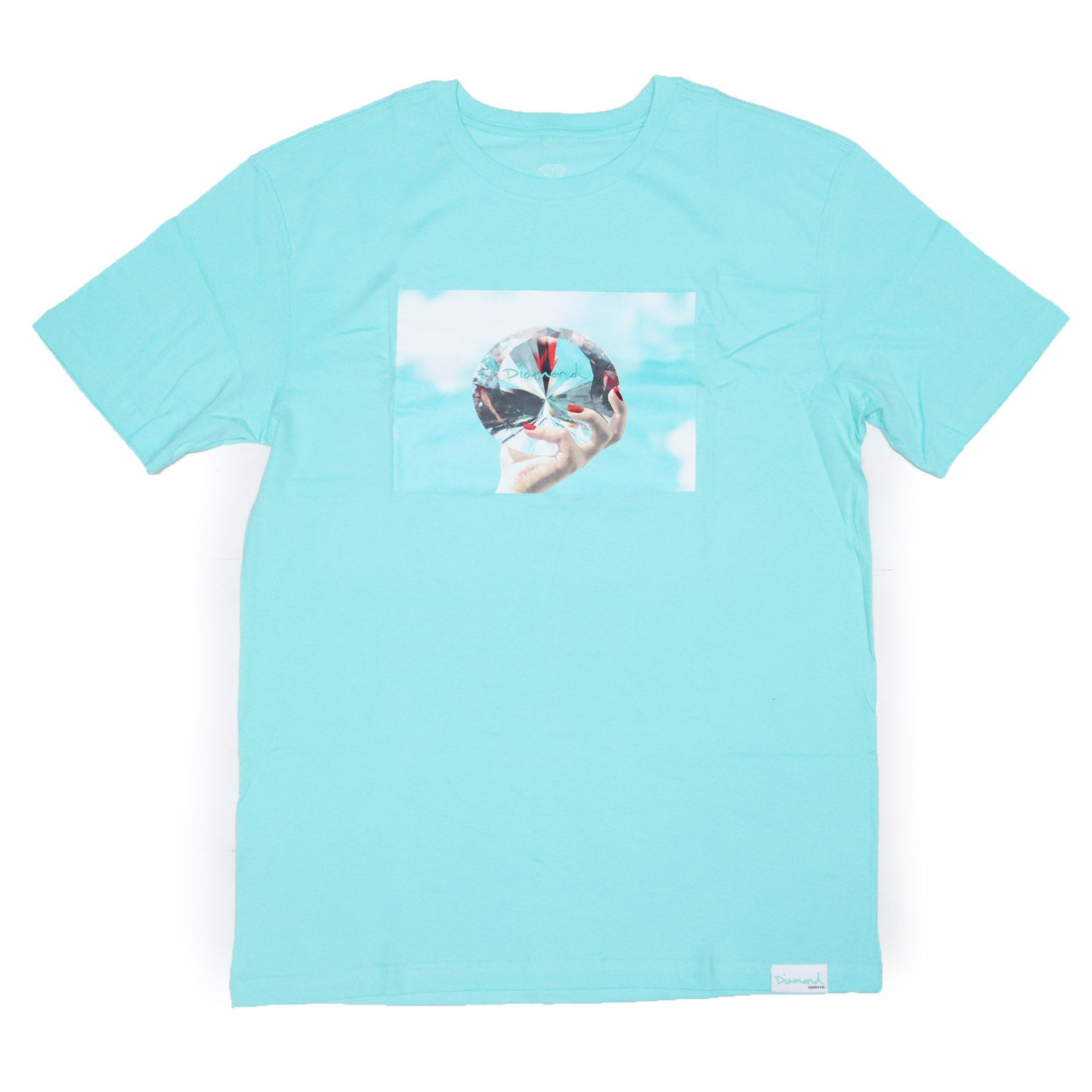Camiseta Diamond WILL x DMND Sky - Verde Àgua