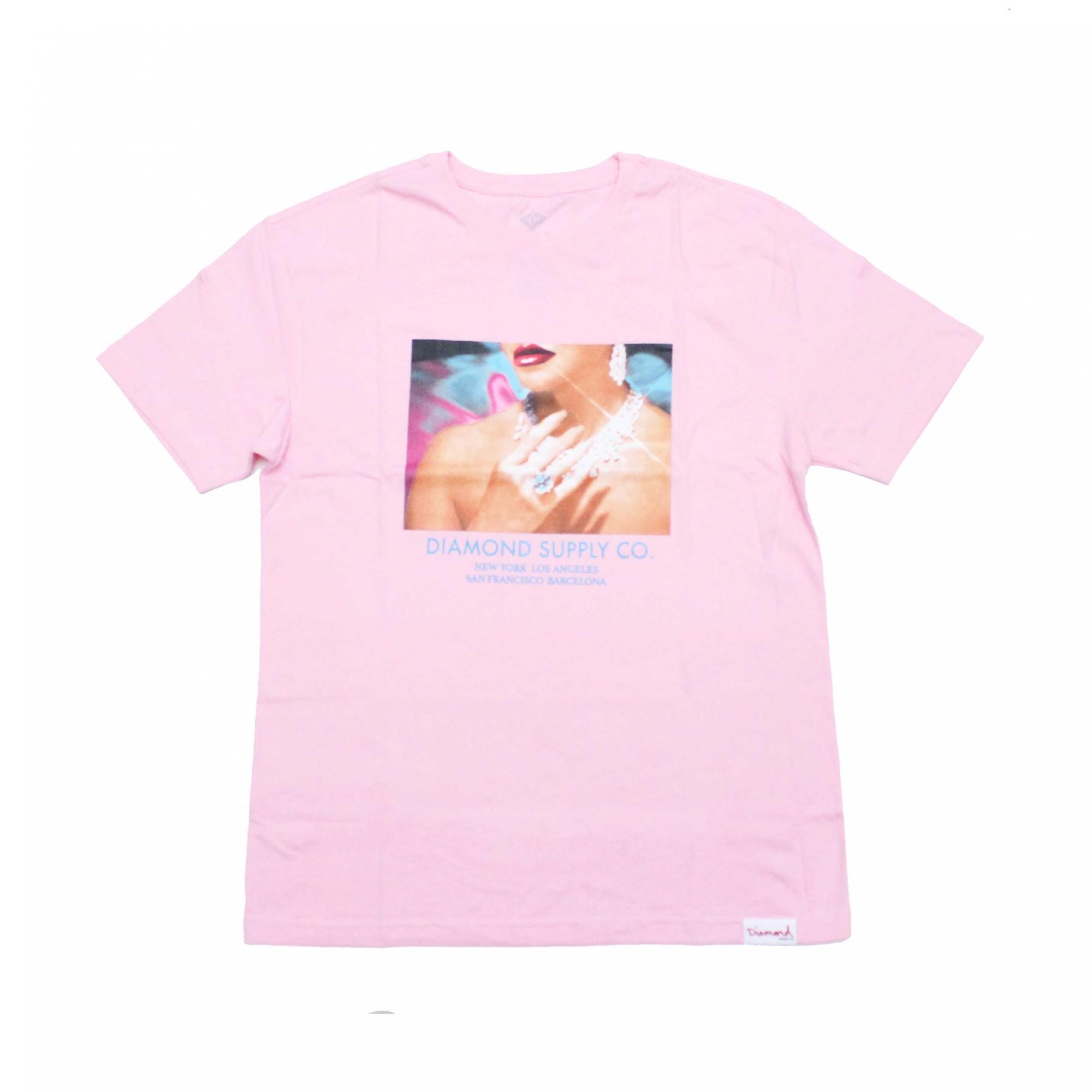 Camiseta Diamond Womens Hand - Rosa