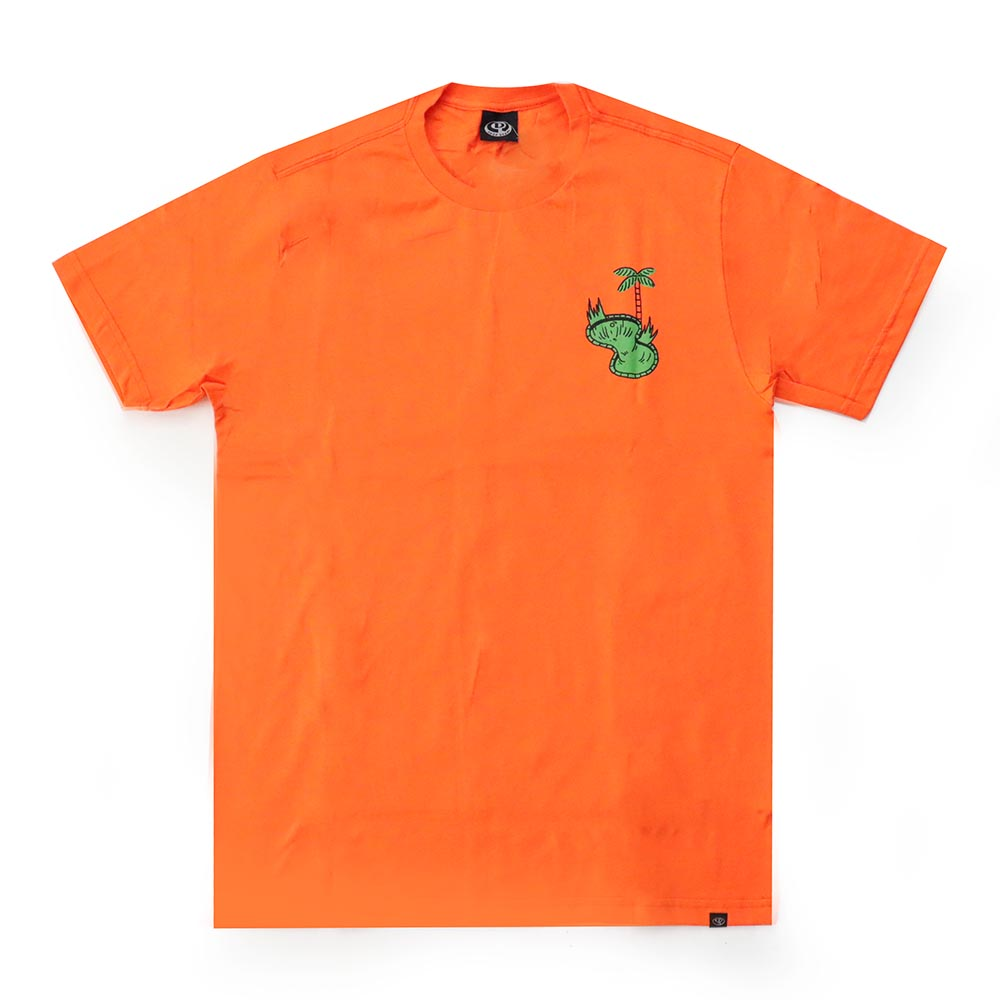 Camiseta Drop Dead Borda - Laranja