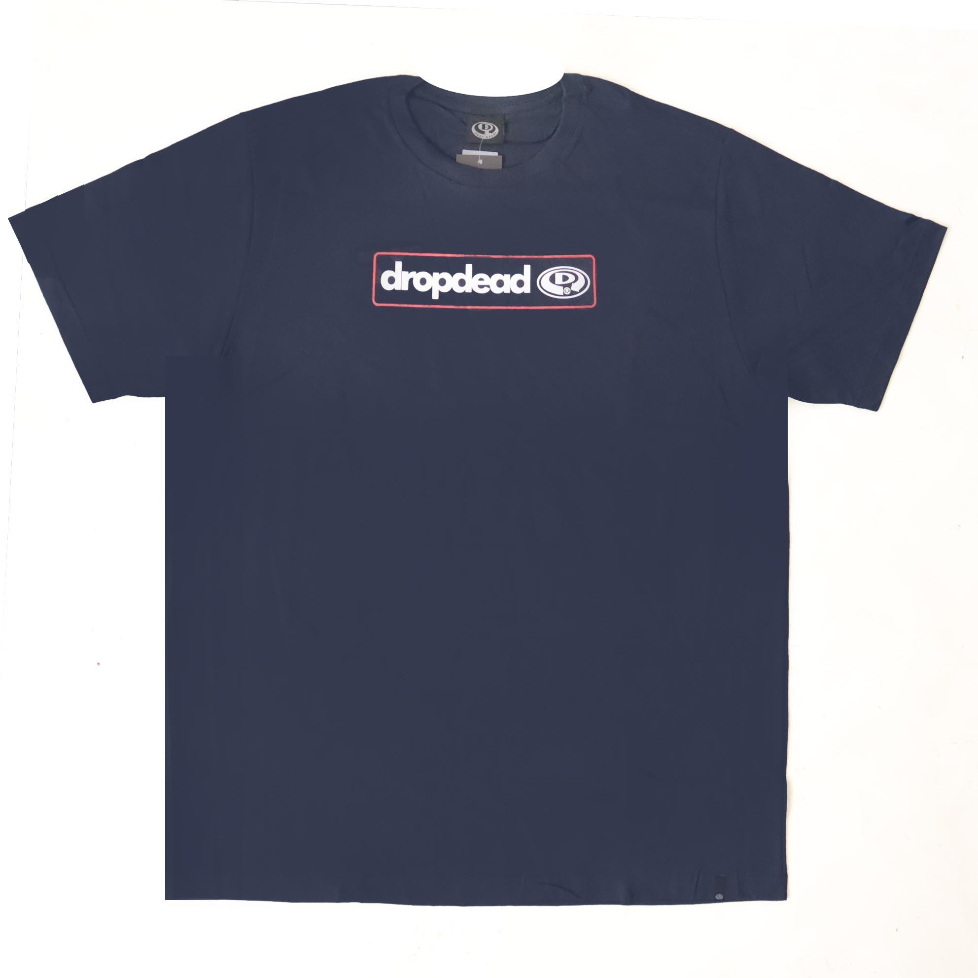 Camiseta Drop Dead Contour - Azul Marinho