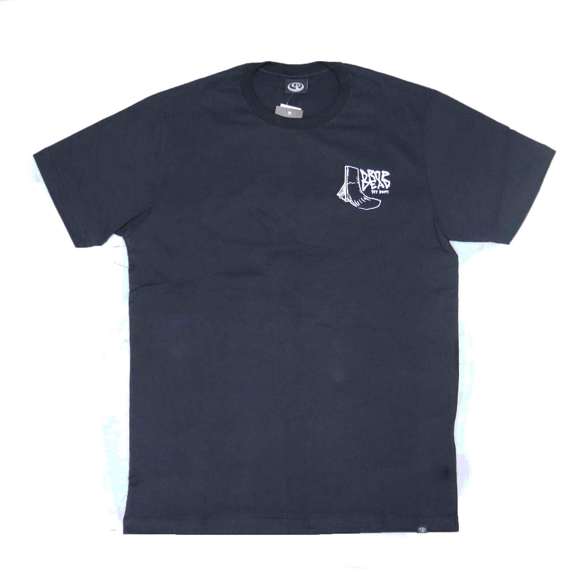 Camiseta Drop Dead DIY Dept - Preto
