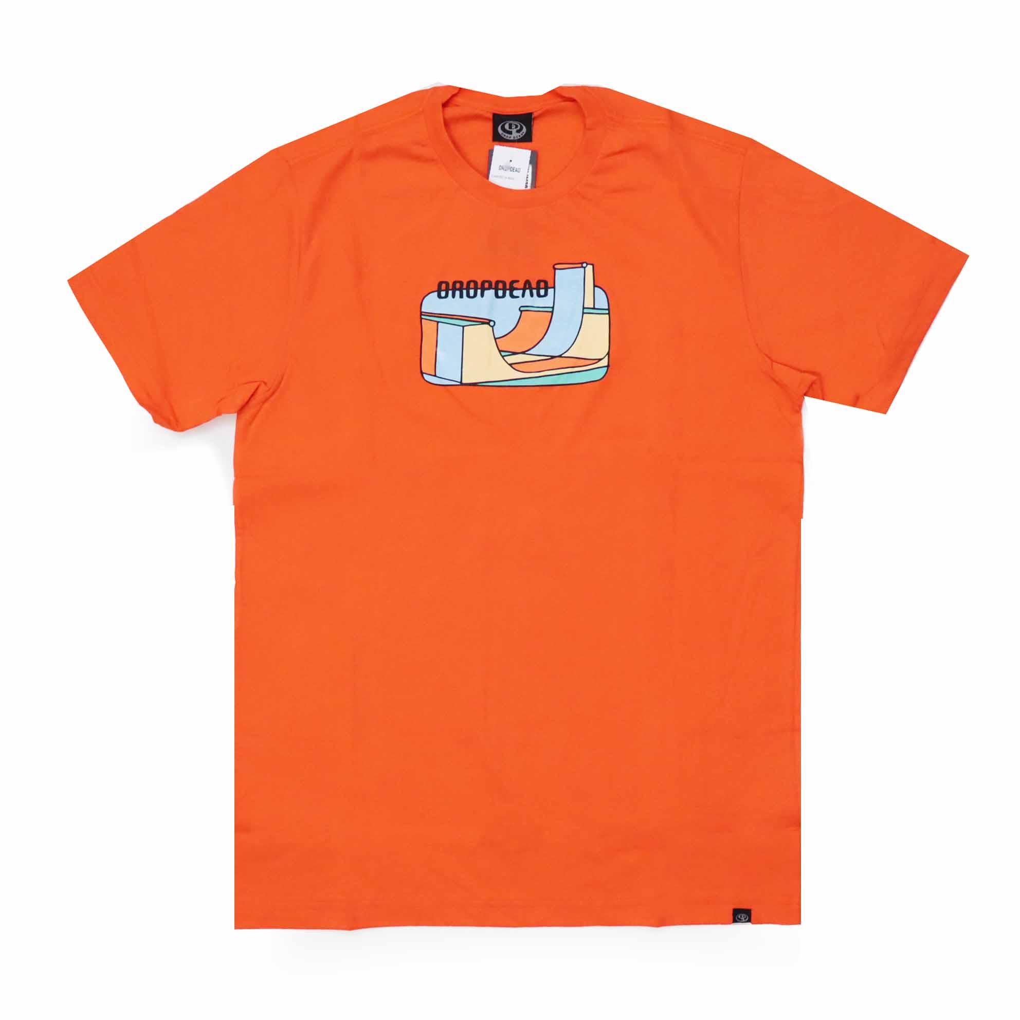 Camiseta Drop Dead Mini Ramp - Laranja