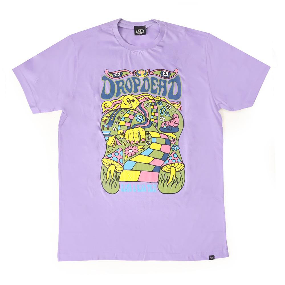 Camiseta Drop Dead Nice Trip - Lilás