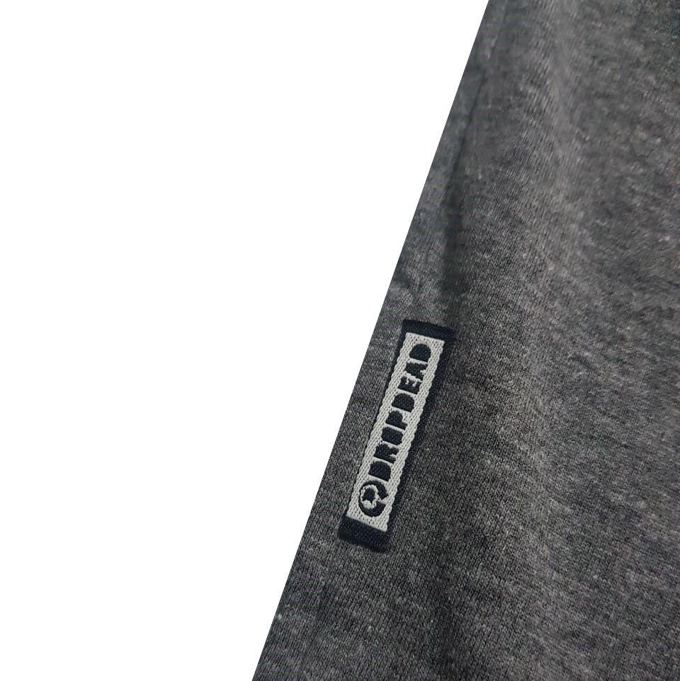 Camiseta Drop Dead Ride To Live Dark Grey