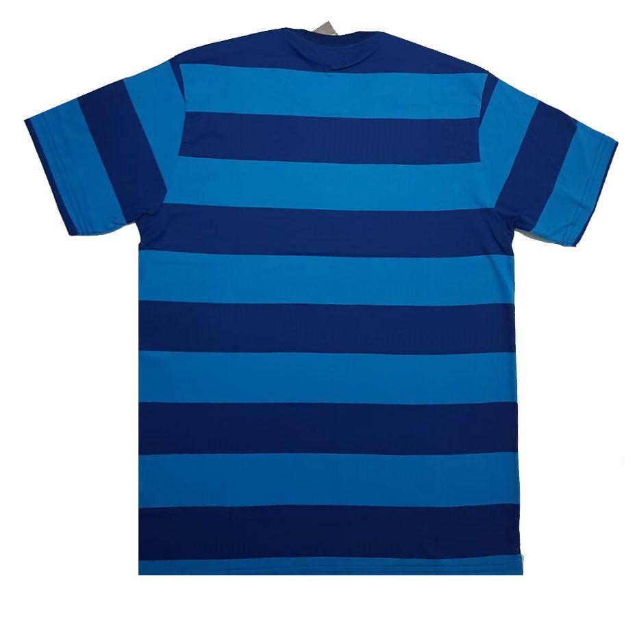 Camiseta Drop Dead Running Free Especial Blue