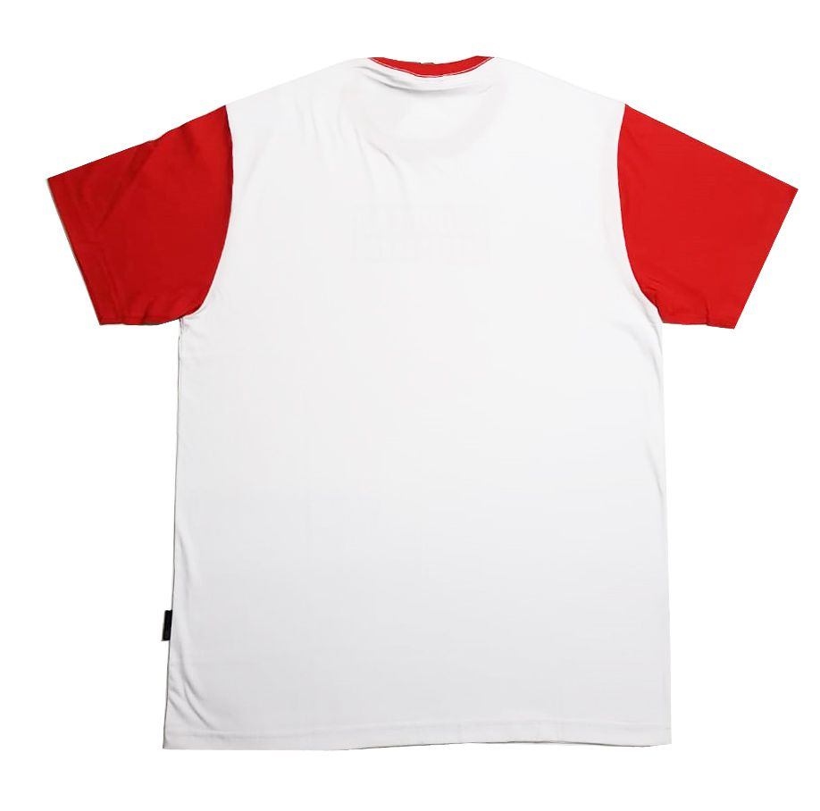 Camiseta Drop Dead Warning White/Red