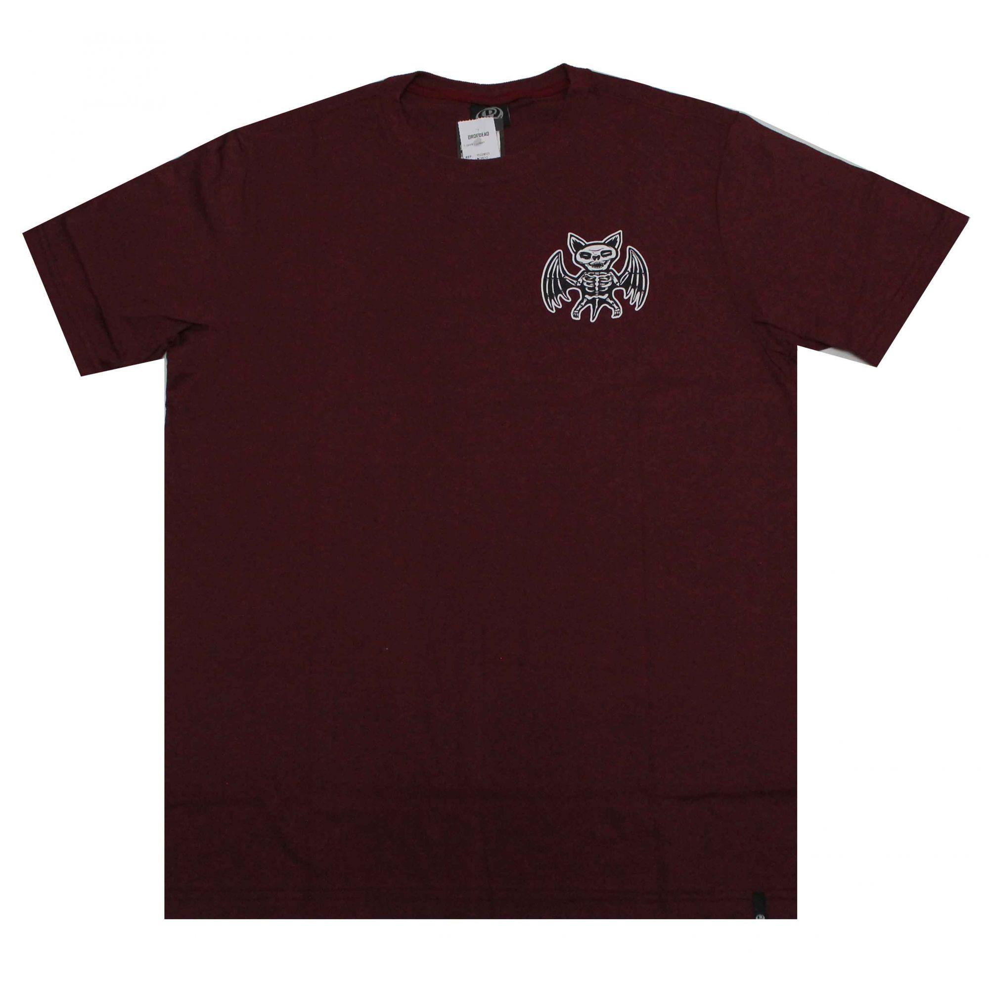 Camiseta Drop Dead X-Ray Wine