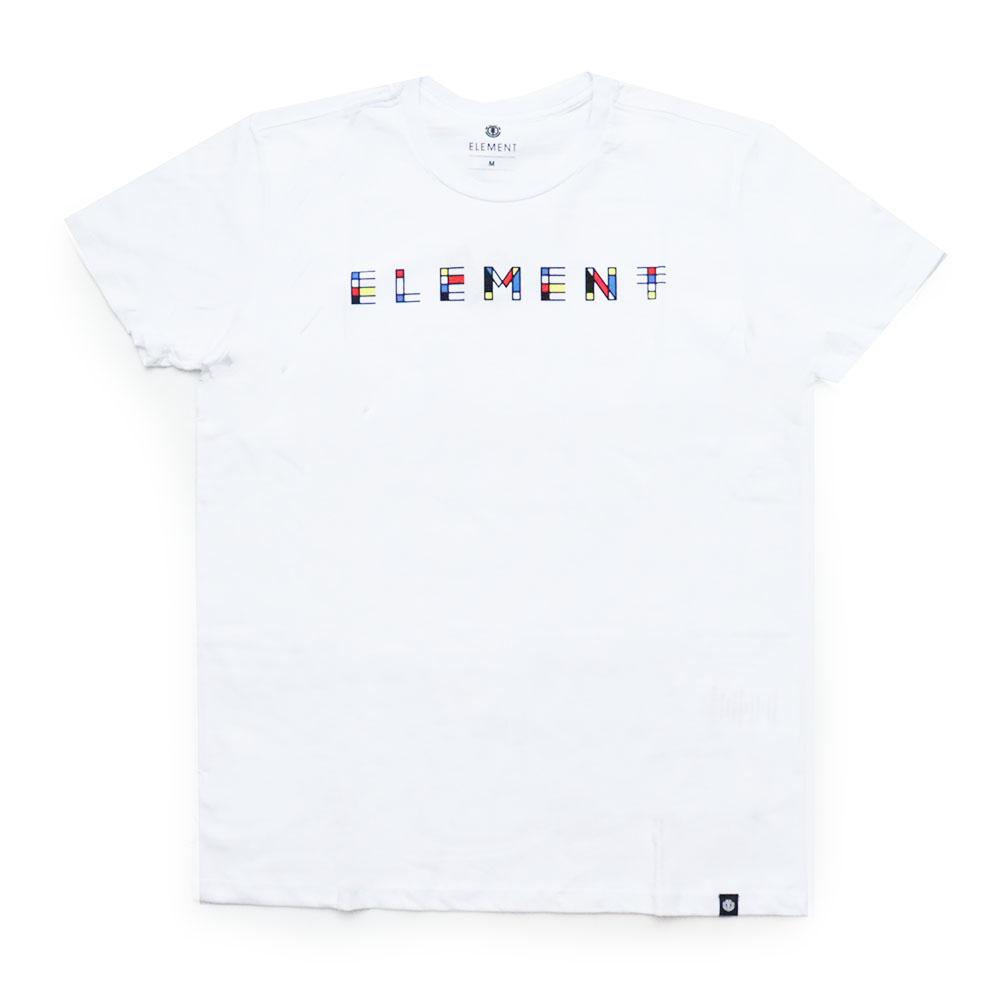 Camiseta Element Metz - Branco