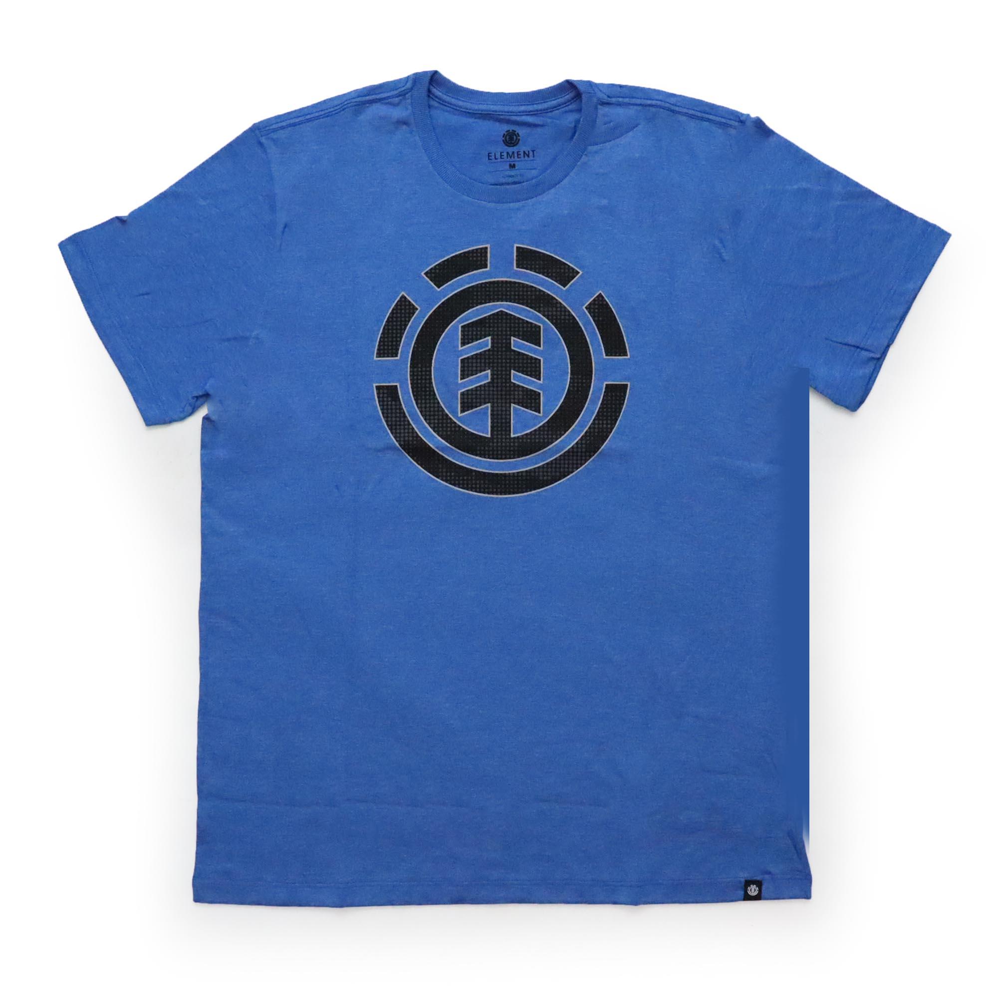 Camiseta Element Resist Icon Fill - Azul Mescla