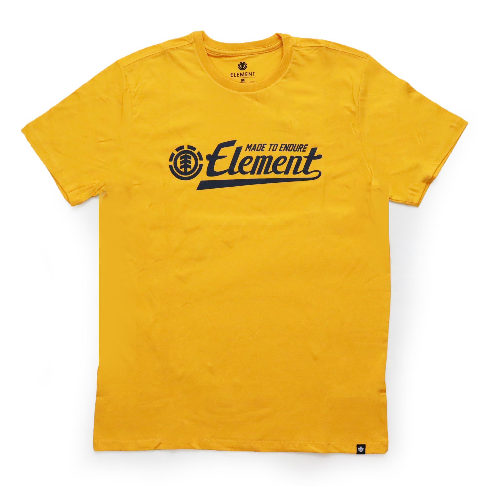 Camiseta Element Signature - Amarelo