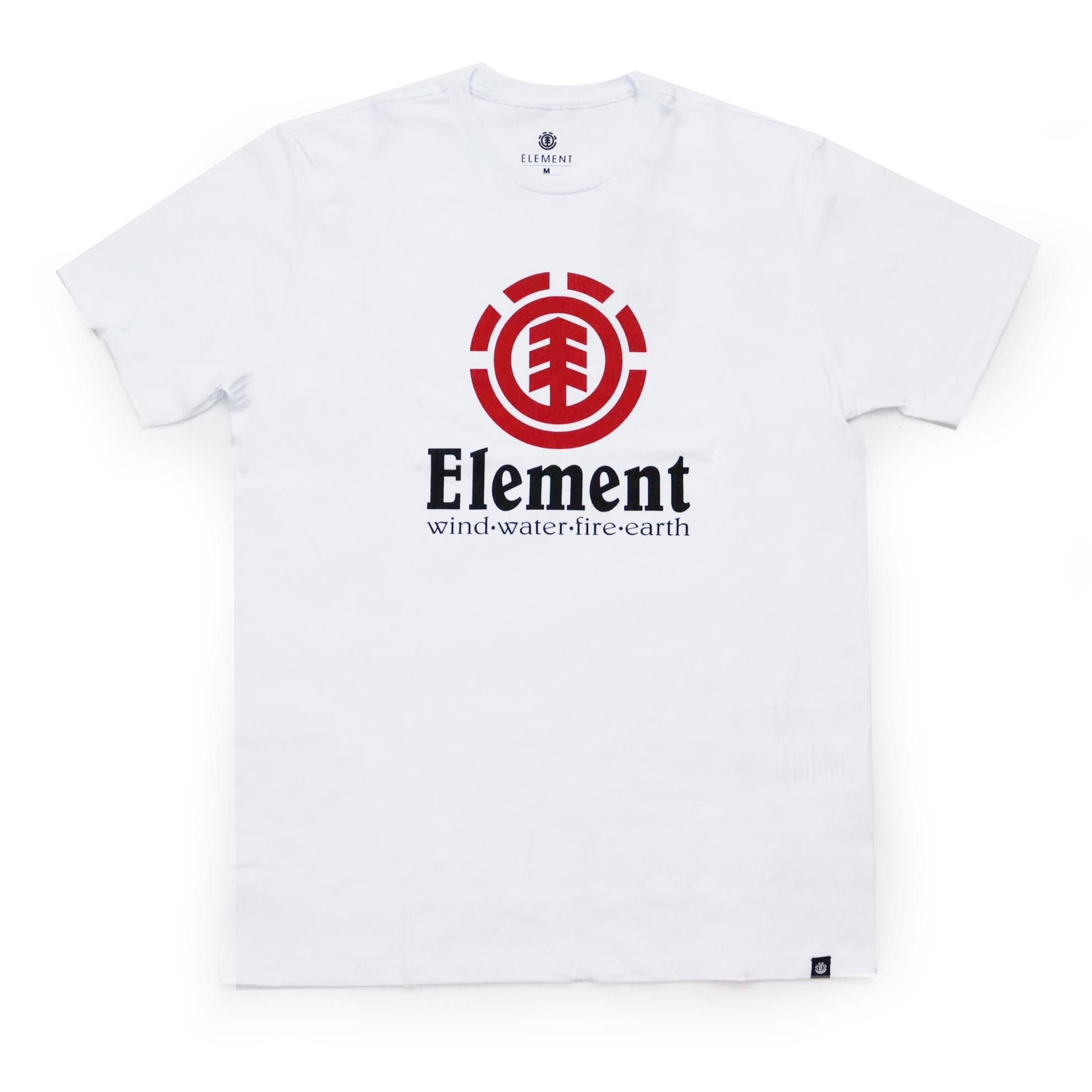 Camiseta Element Vertical - Branco