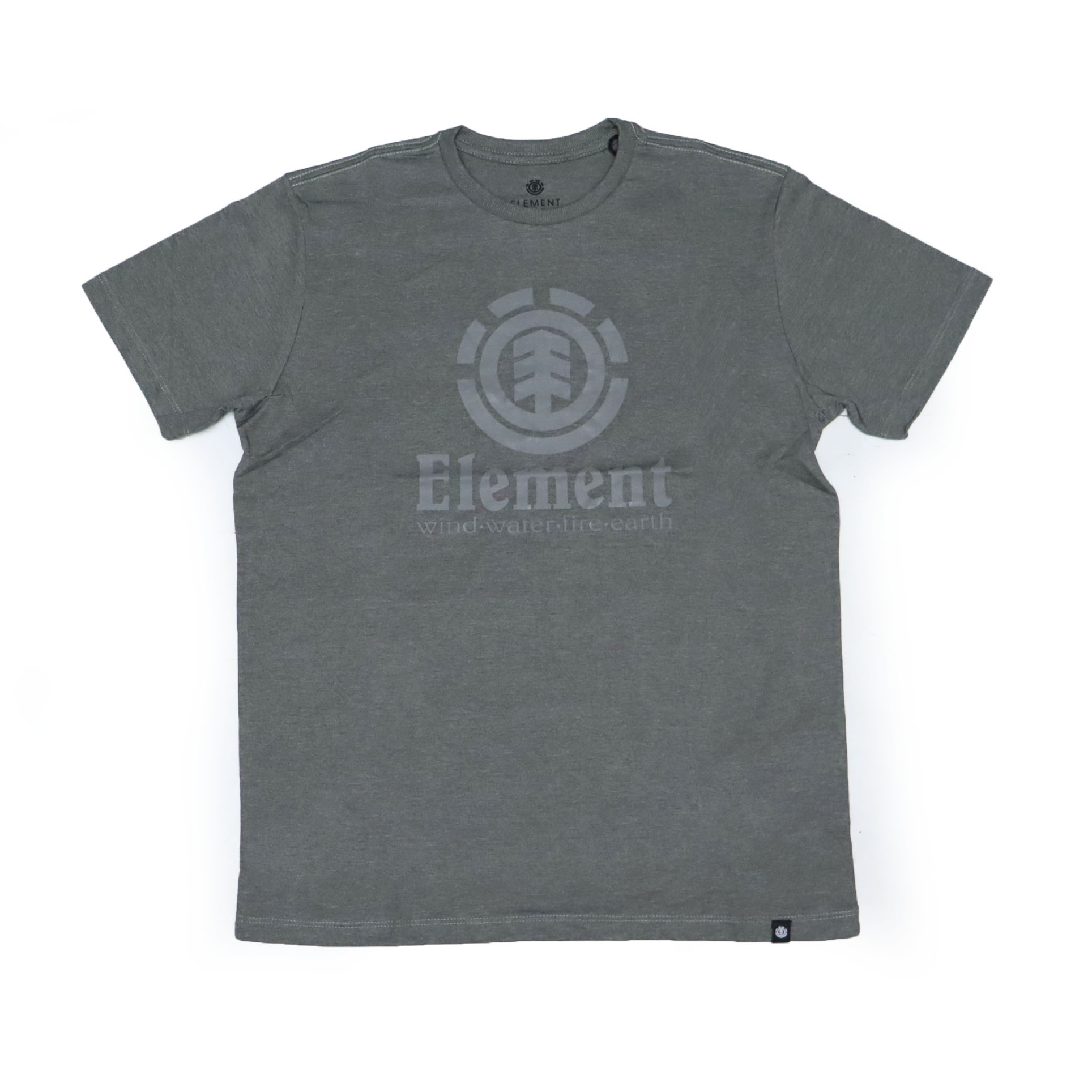 Camiseta Element Vertical - Verde Mescla