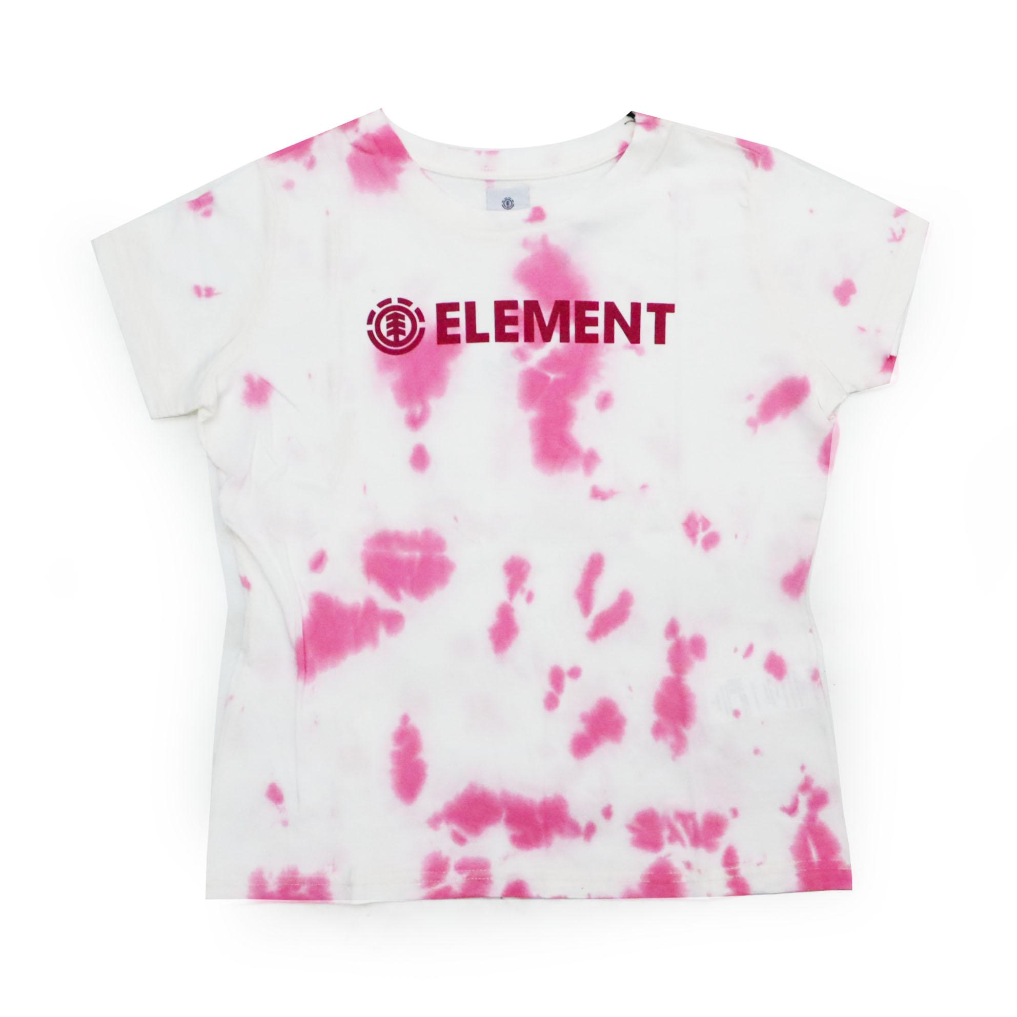 Camiseta Feminina Element Blazin - Tie Dye Rosa
