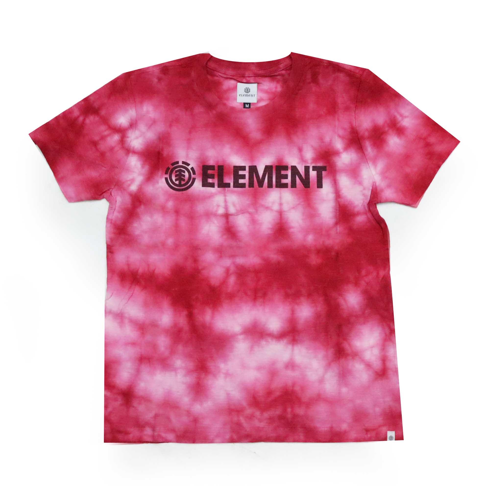 Camiseta Feminina Element Pink Dye - Tie Dye Rosa