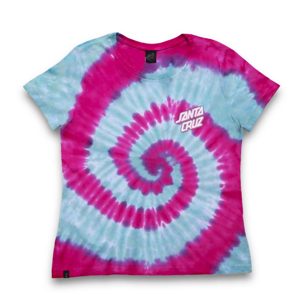 Camiseta Feminina Santa Cruz Twister Dot - Rosa
