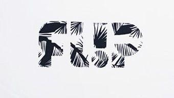 Camiseta Flip Palms Shadow Branca