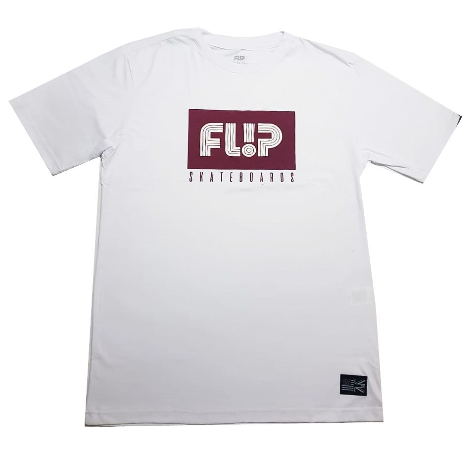 Camiseta Flip Tube Box Branca