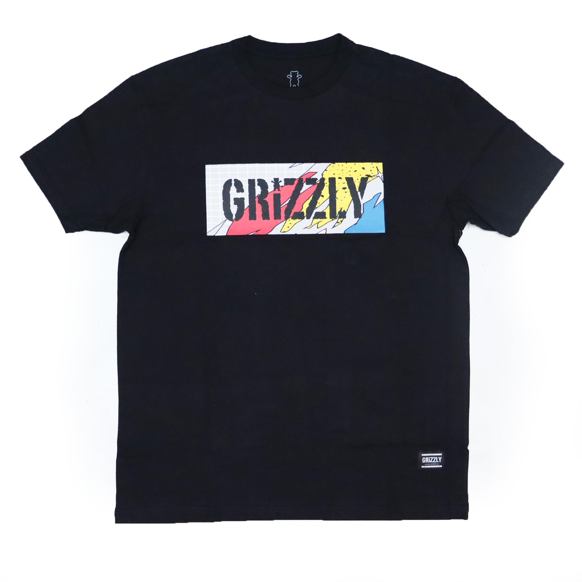 Camiseta Grizzly All That Stamp - Preto