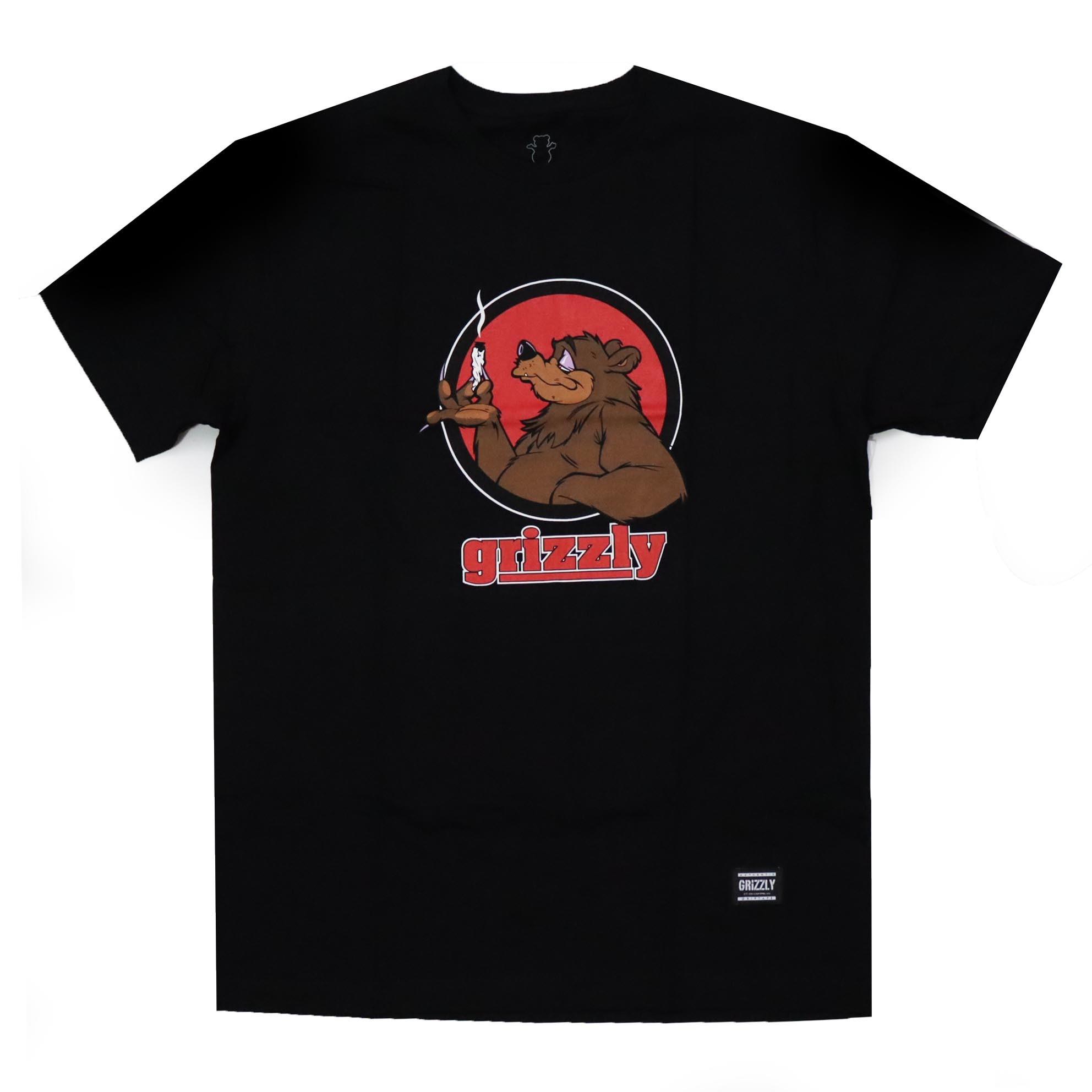 Camiseta Grizzly Bear Blunt - Preto