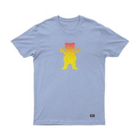 Camiseta Grizzly Bear Fadeway - Azul Claro