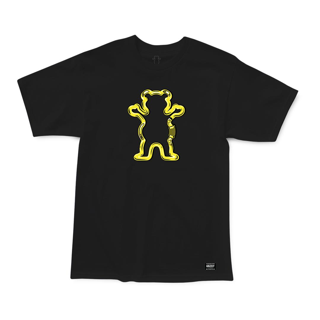 Camiseta Grizzly Carabiner - Preto