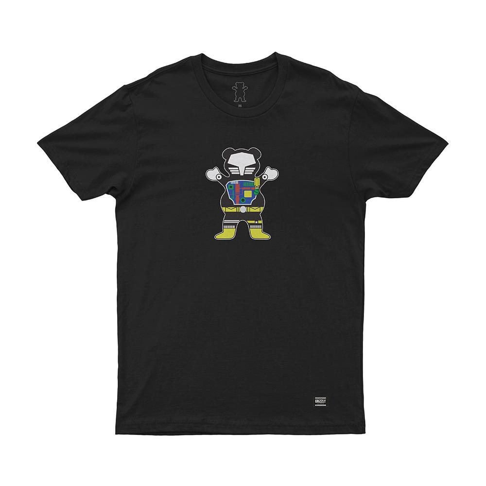 Camiseta Grizzly Chris Cole - Preto