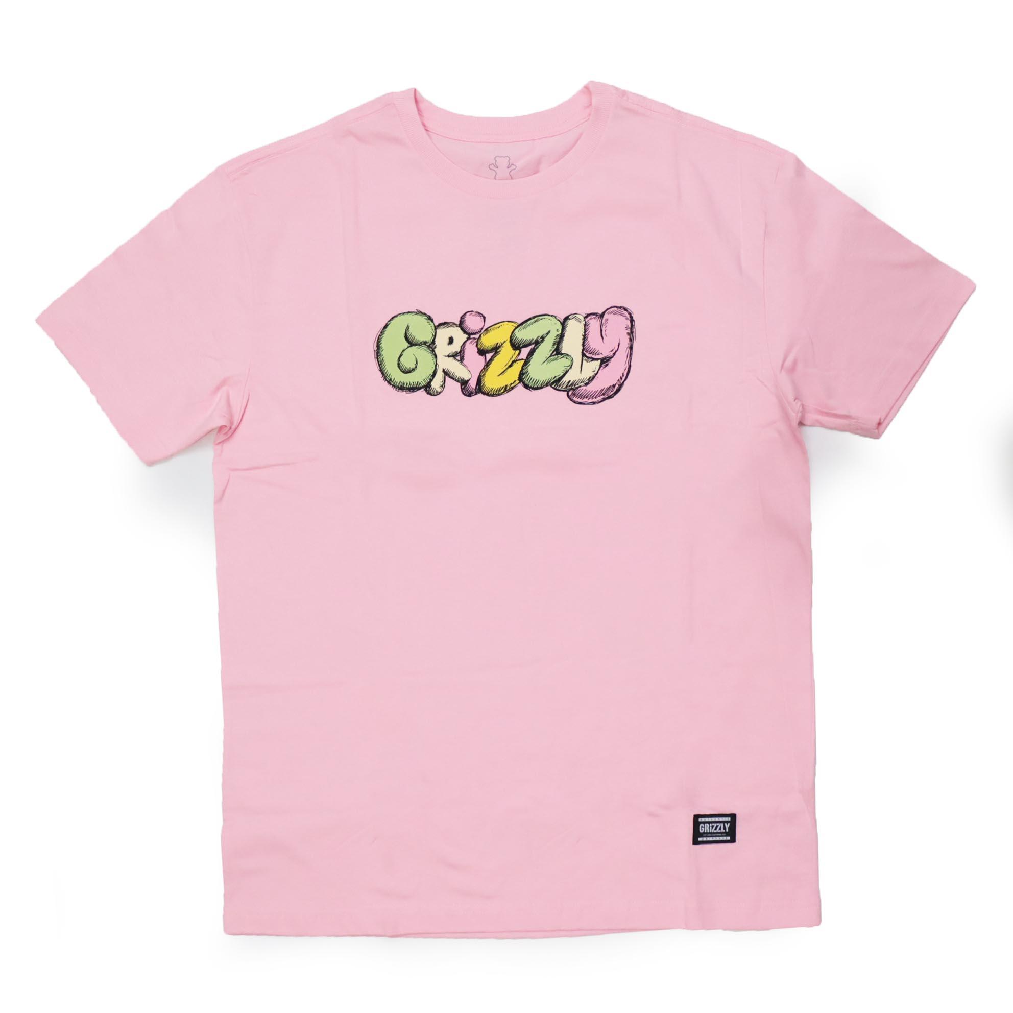 Camiseta Grizzly Fuzzy - Rosa