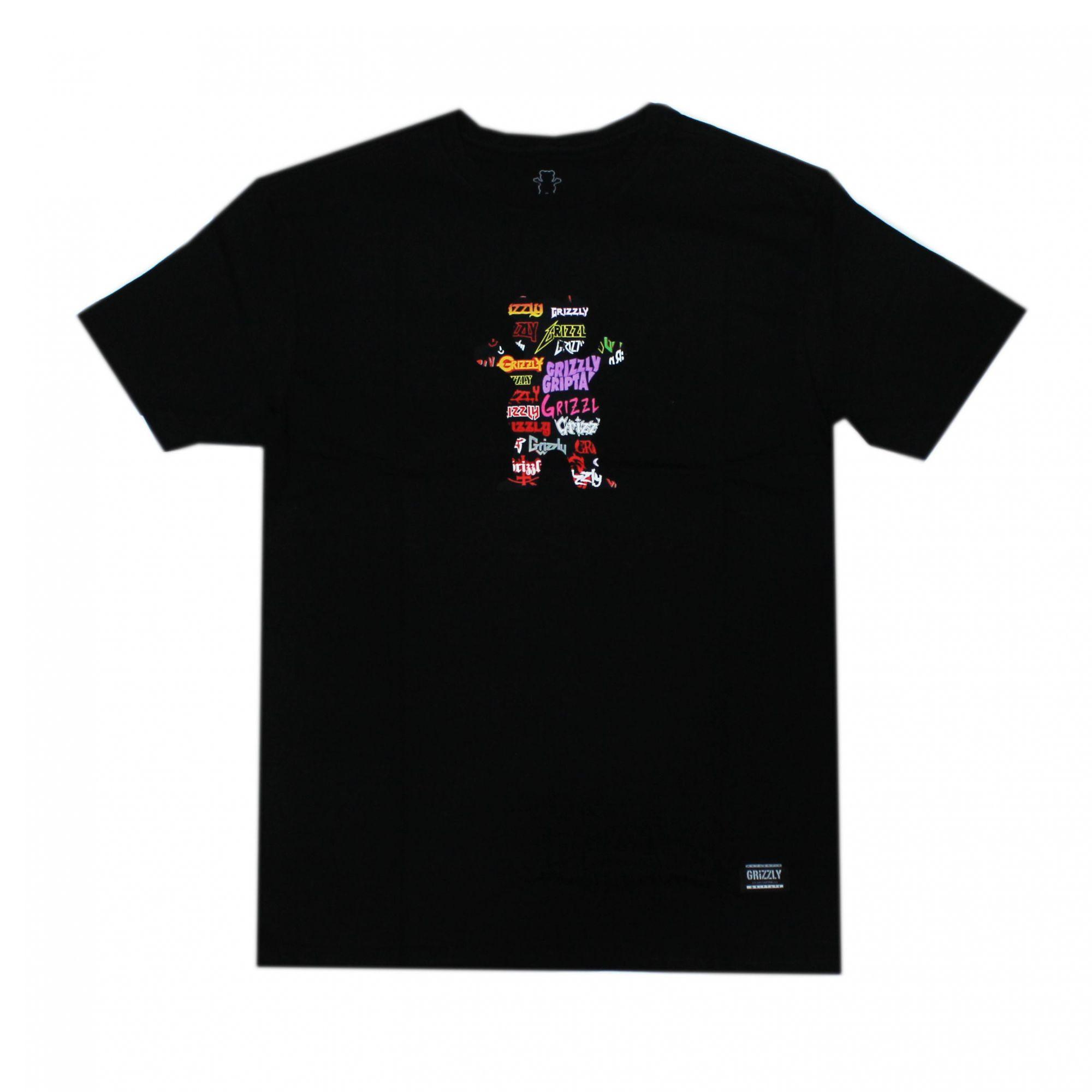 Camiseta Grizzly Grizzfest Bear - Preto