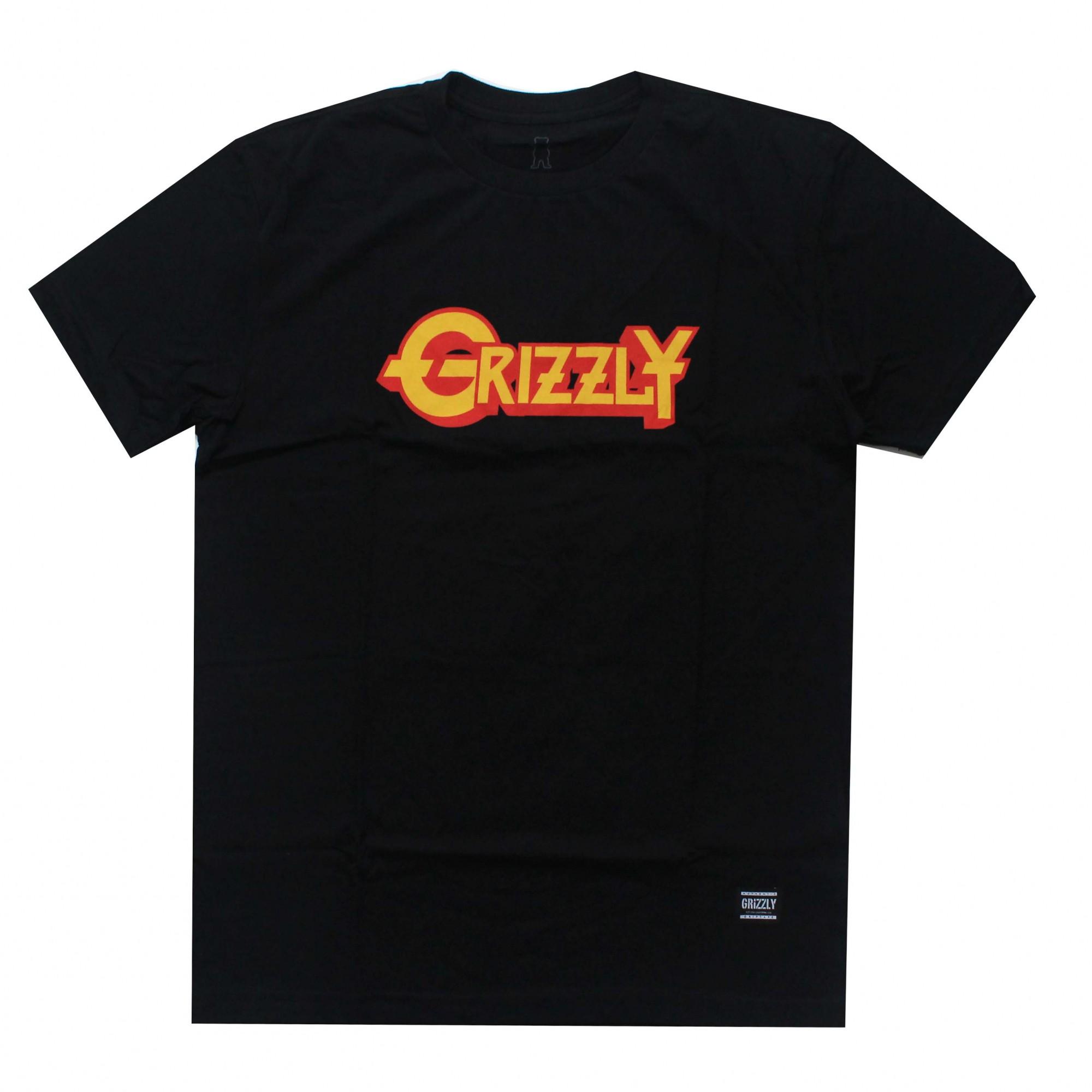 Camiseta Grizzly Grizzfest Preto