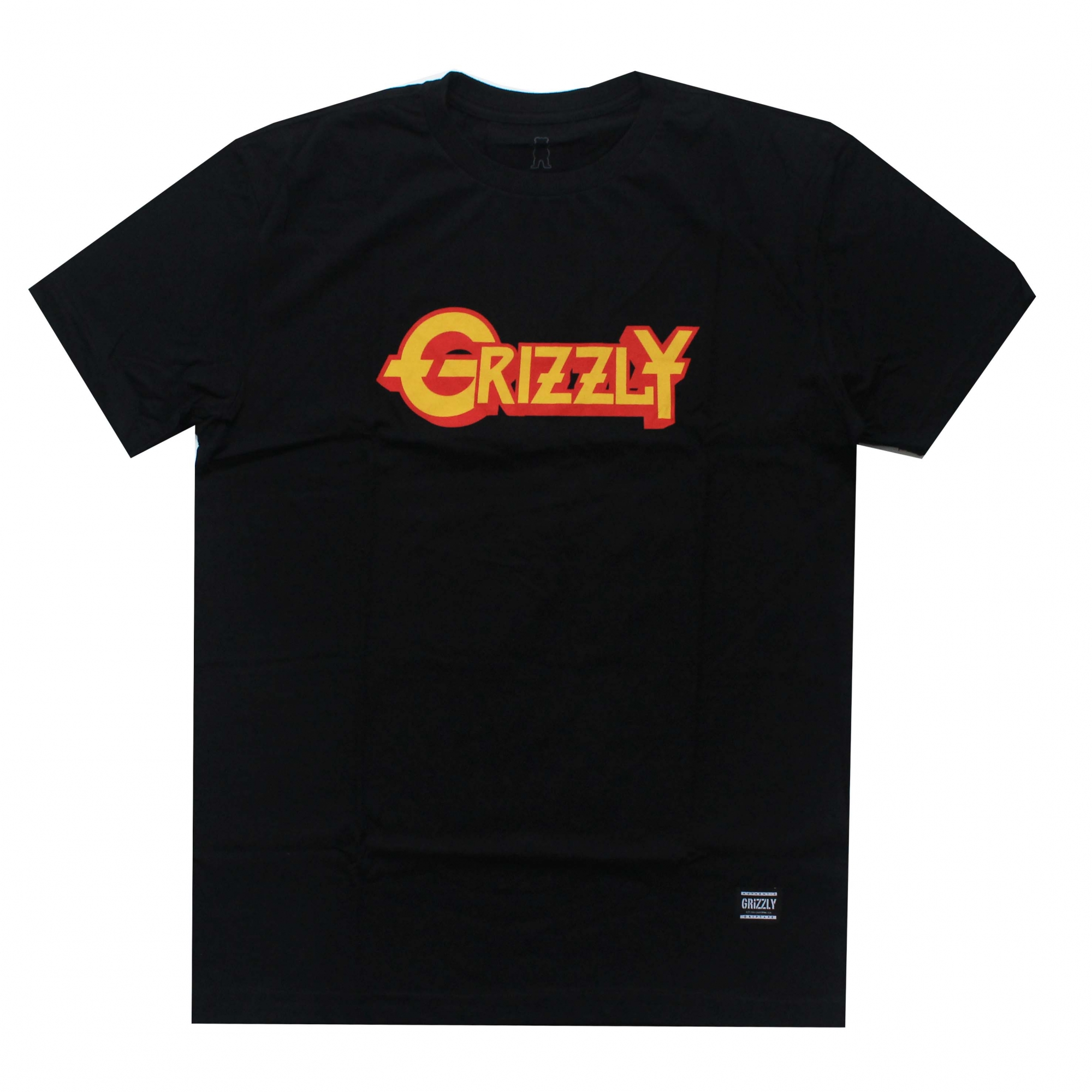 Camiseta Grizzly Grizzfest - Preto