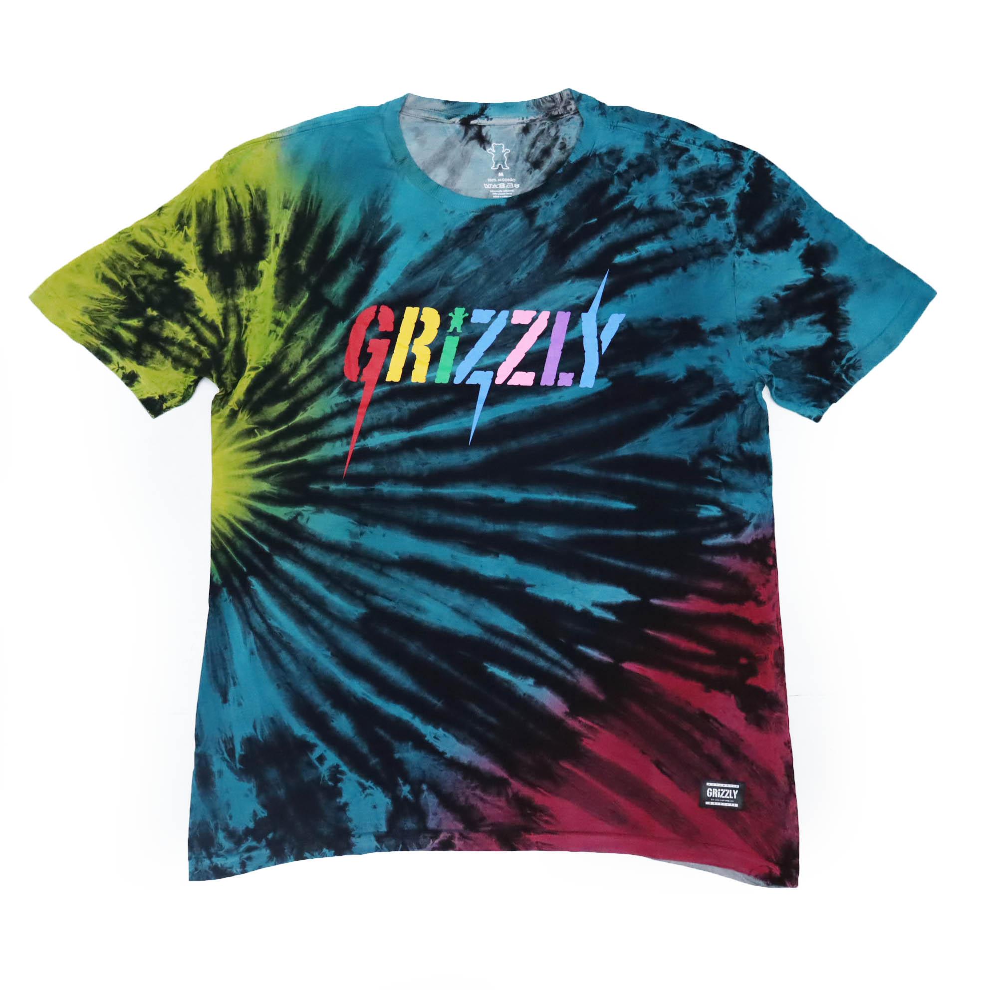 Camiseta Grizzly Incite - Tie Dye
