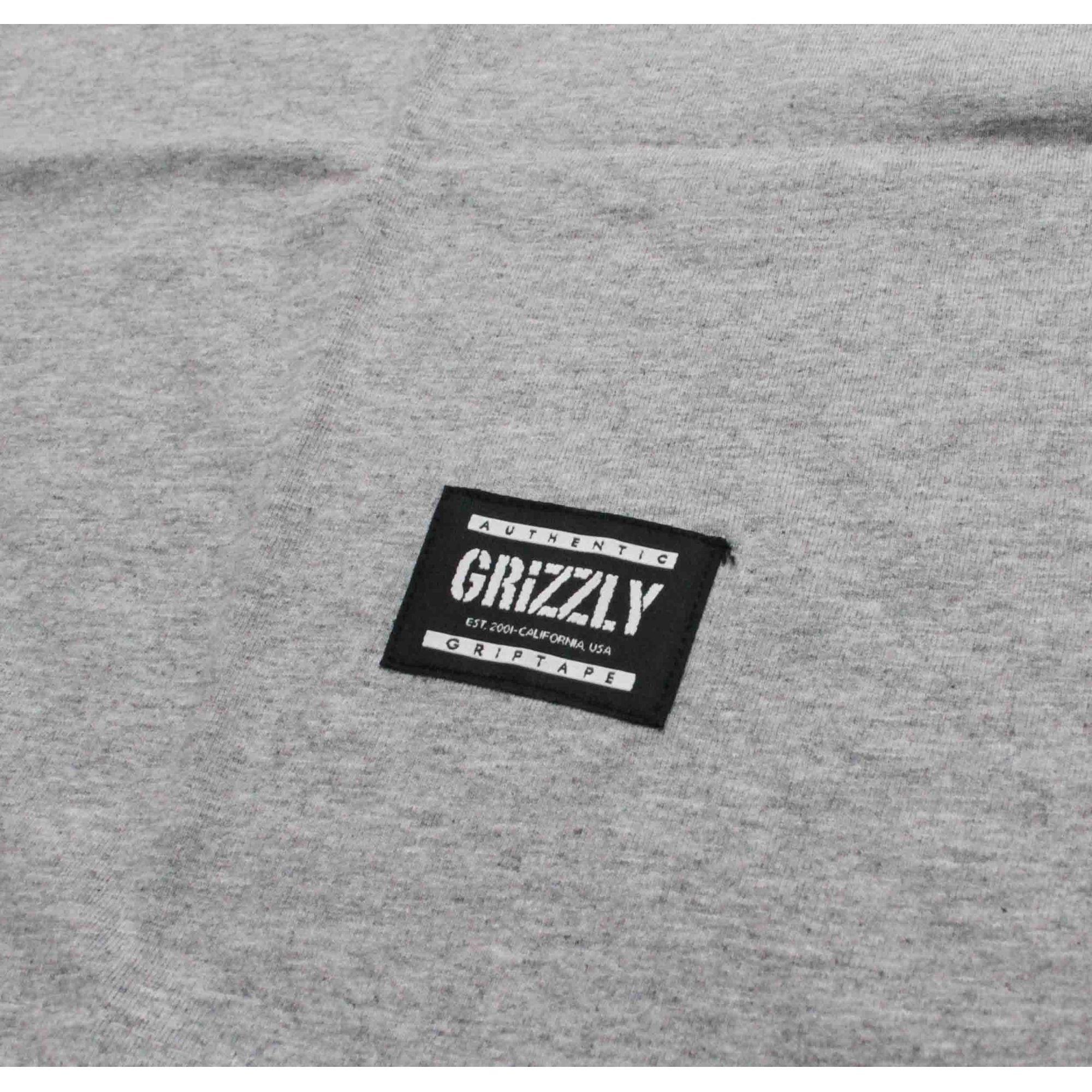 Camiseta Grizzly Lowercase Grey