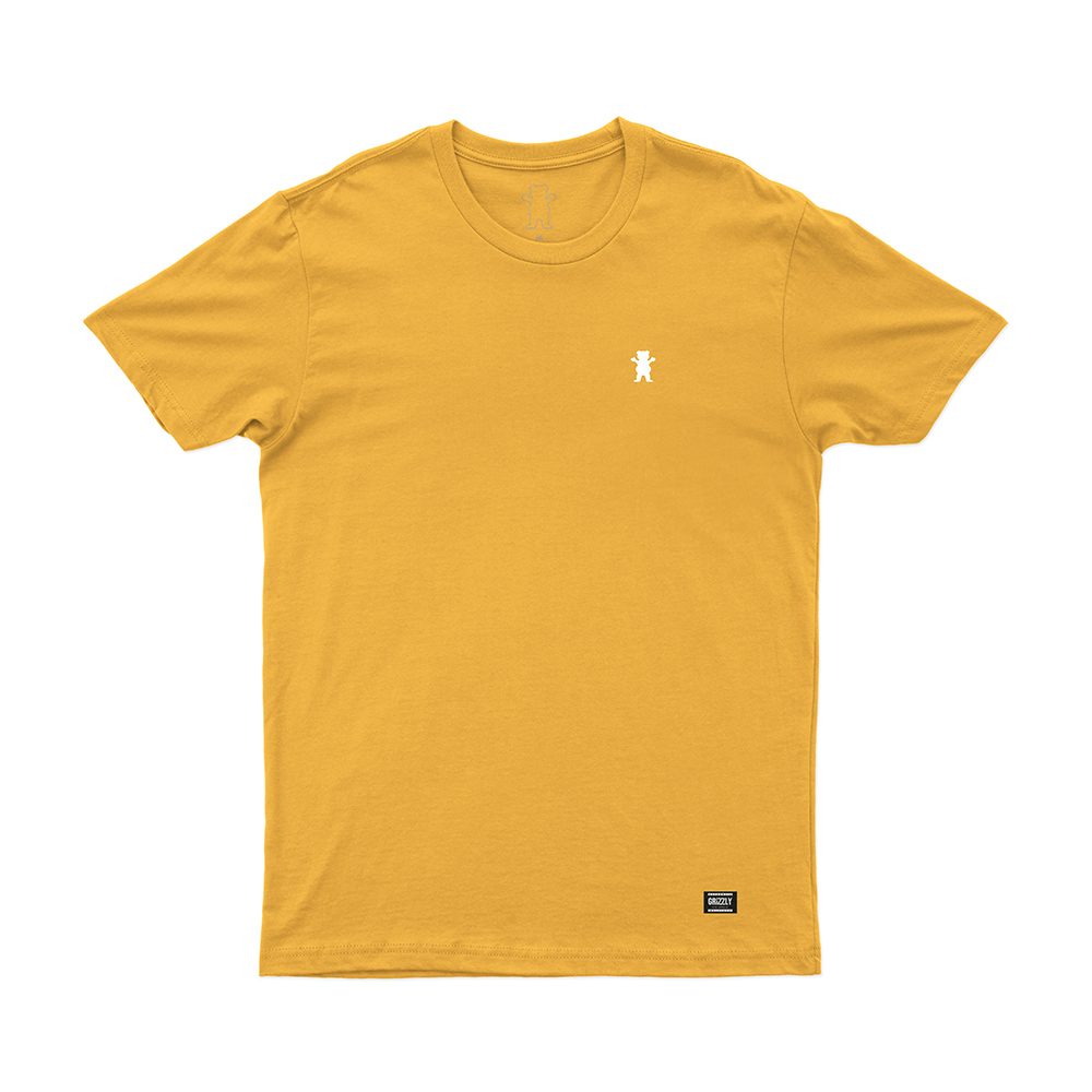 Camiseta Grizzly Mini Og Bear - Amarelo Gold