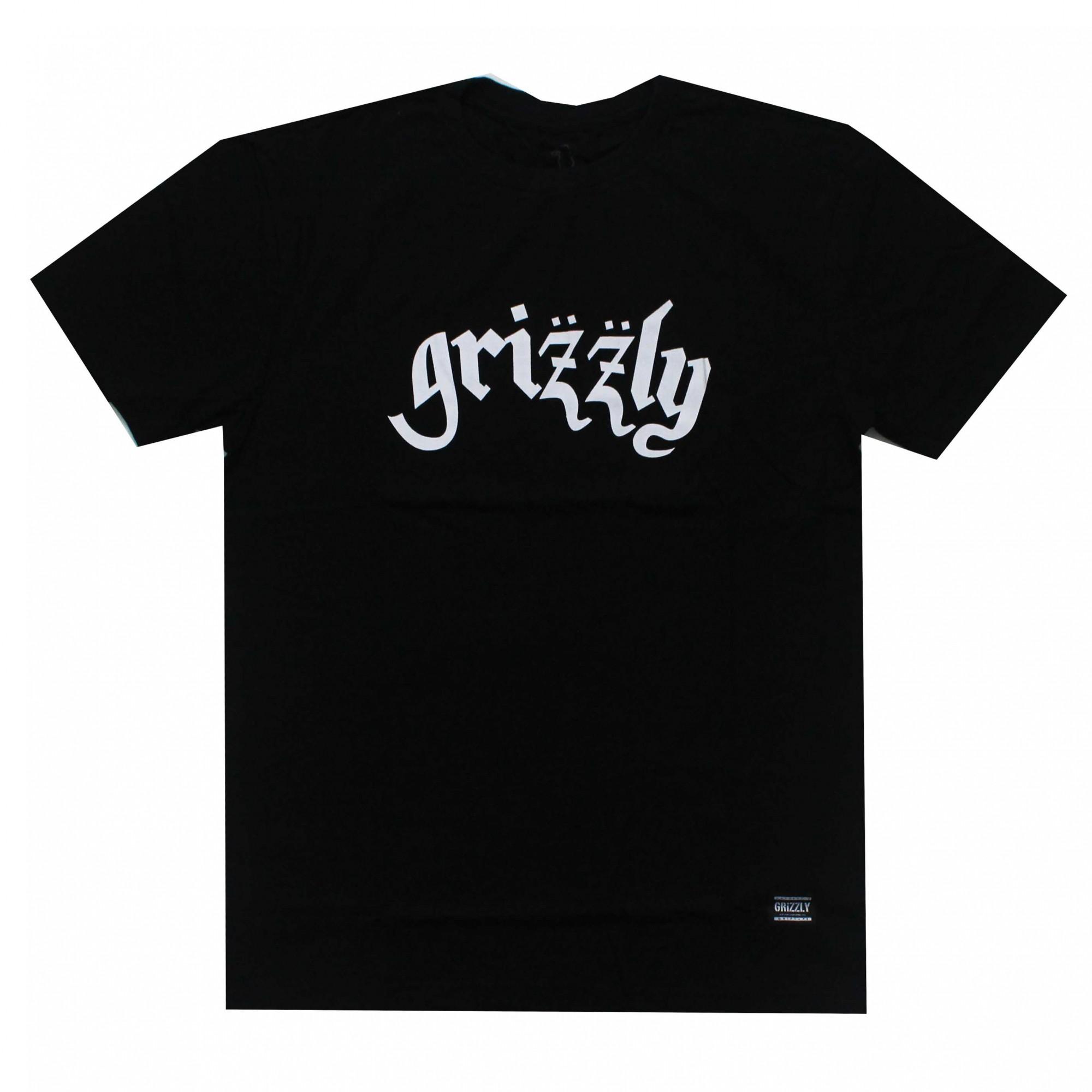Camiseta Grizzly Motorgrizz Preto