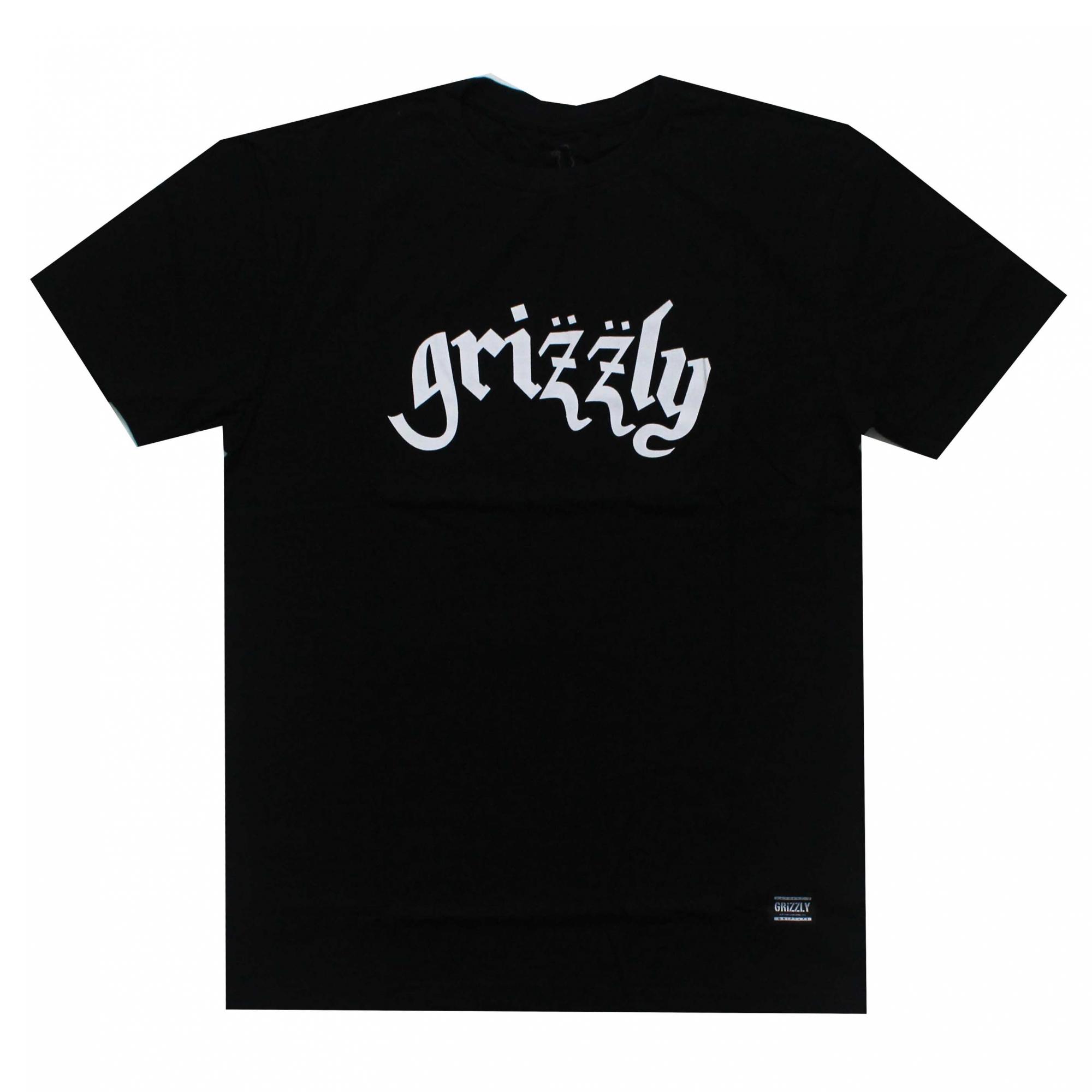 Camiseta Grizzly Motorgrizz - Preto