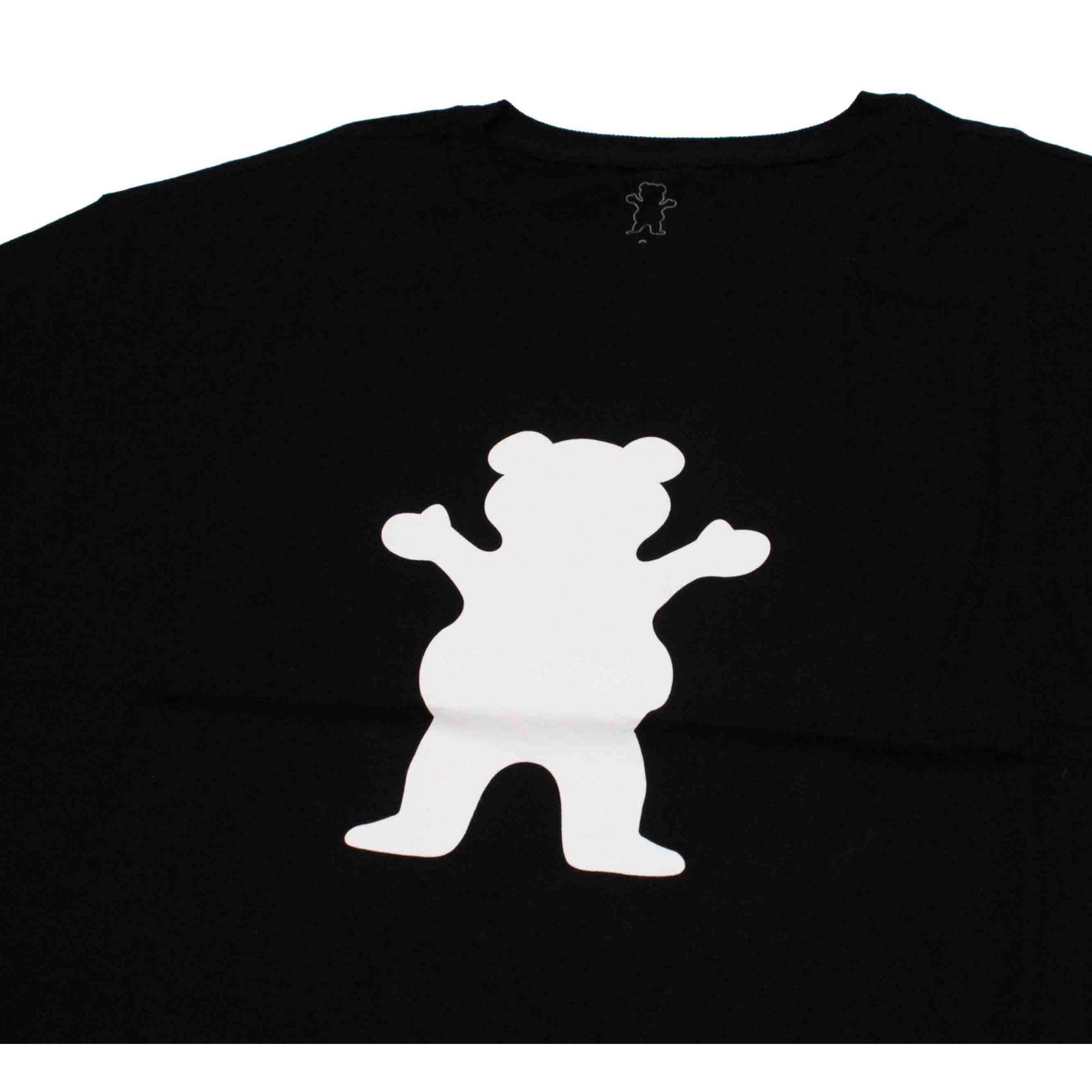 Camiseta Grizzly Og Bear Logo Black